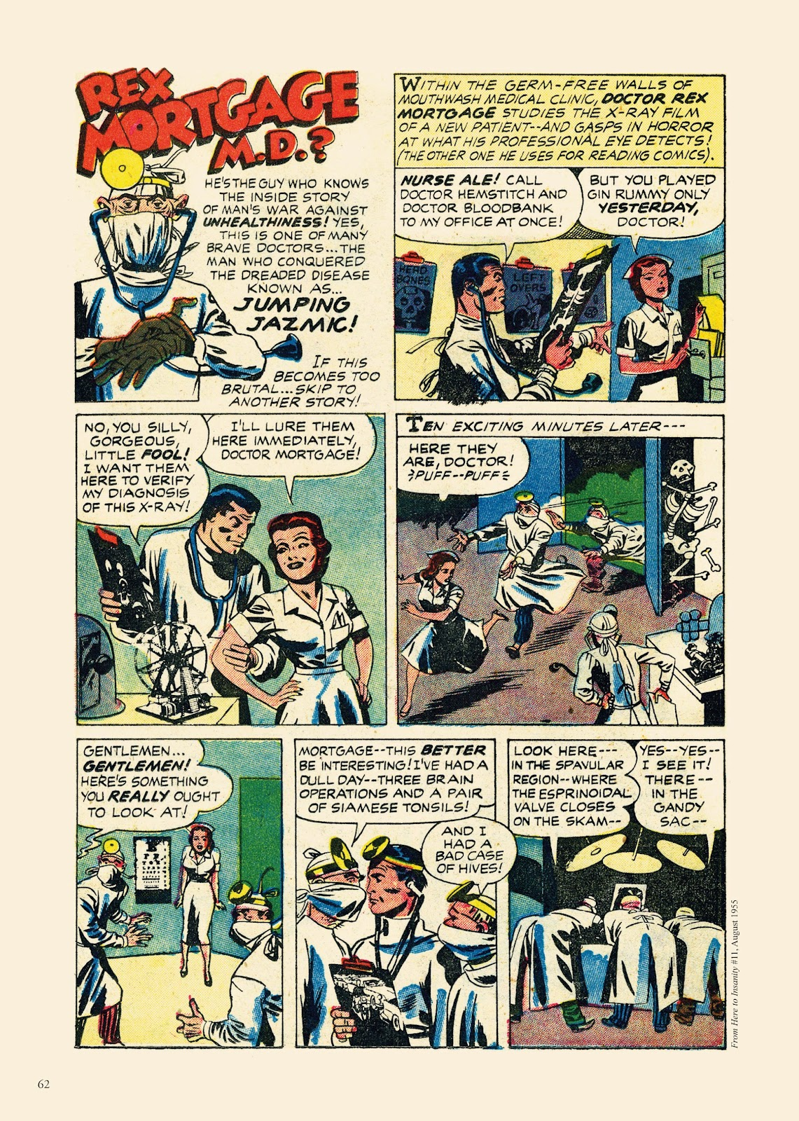 Read online Sincerest Form of Parody: The Best 1950s MAD-Inspired Satirical Comics comic -  Issue # TPB (Part 1) - 63