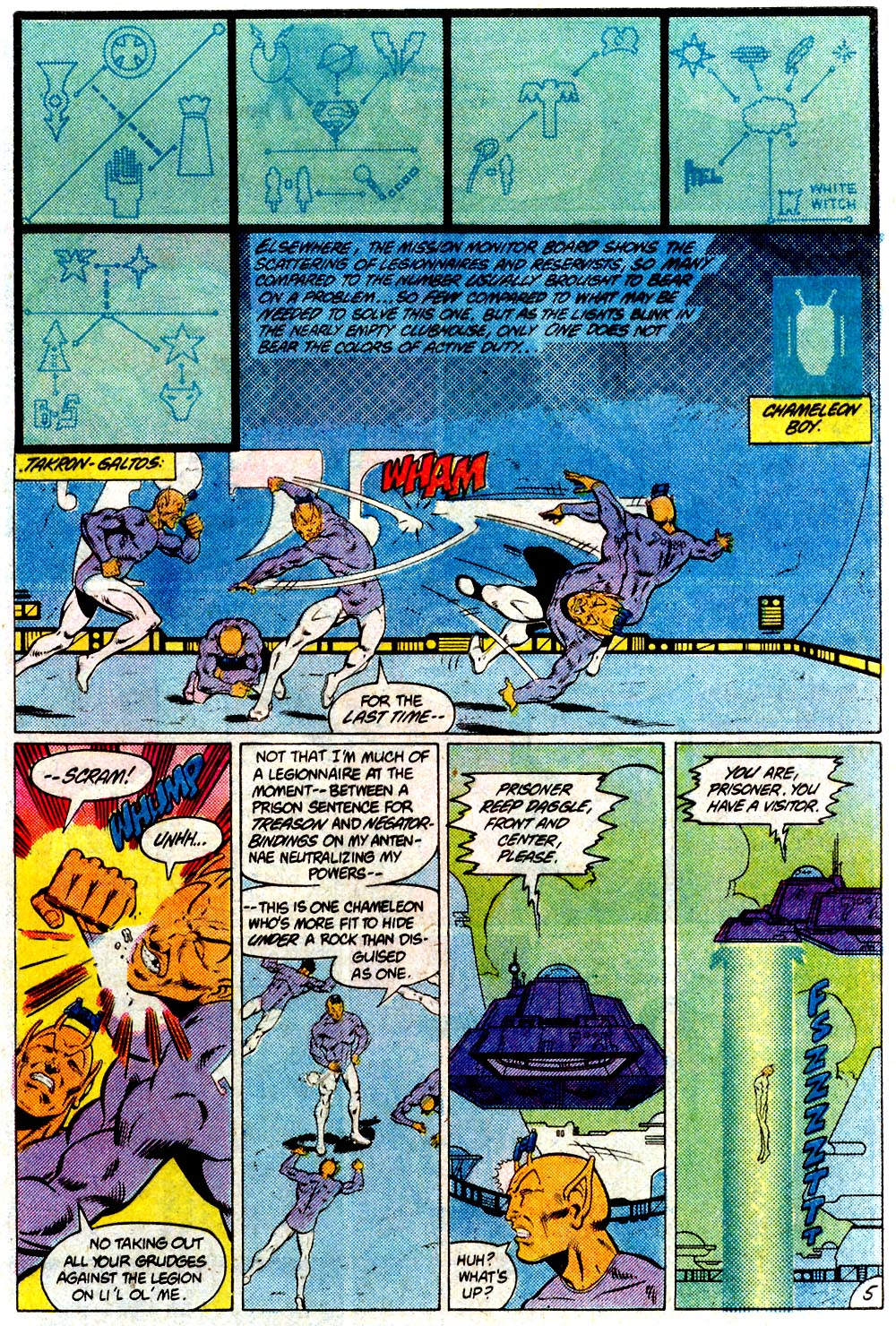 Legion of Super-Heroes (1980) 293 Page 5