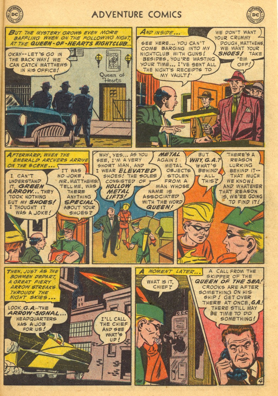 Read online Adventure Comics (1938) comic -  Issue #203 - 37