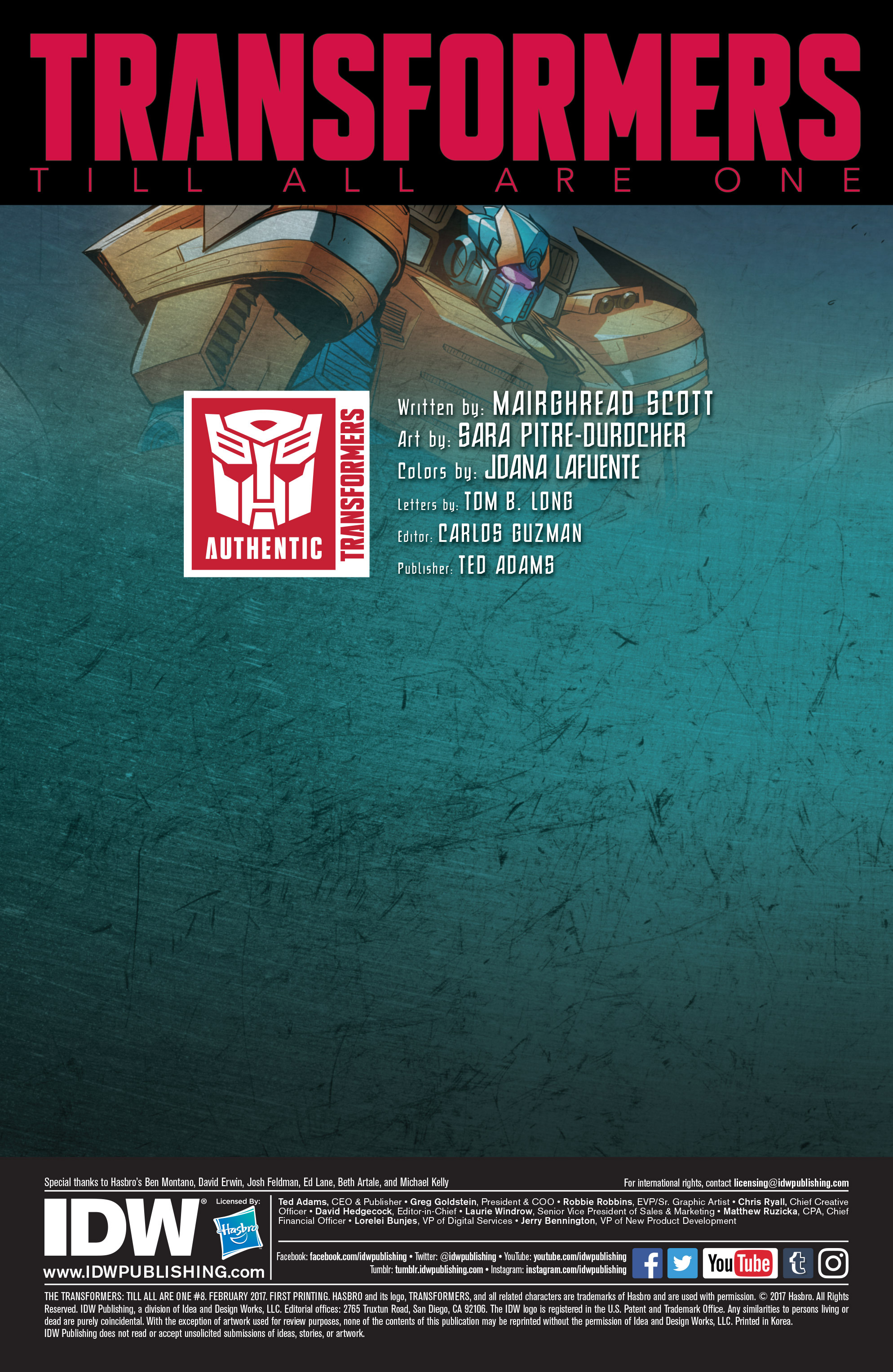 Read online Transformers: Till All Are One comic -  Issue #8 - 2