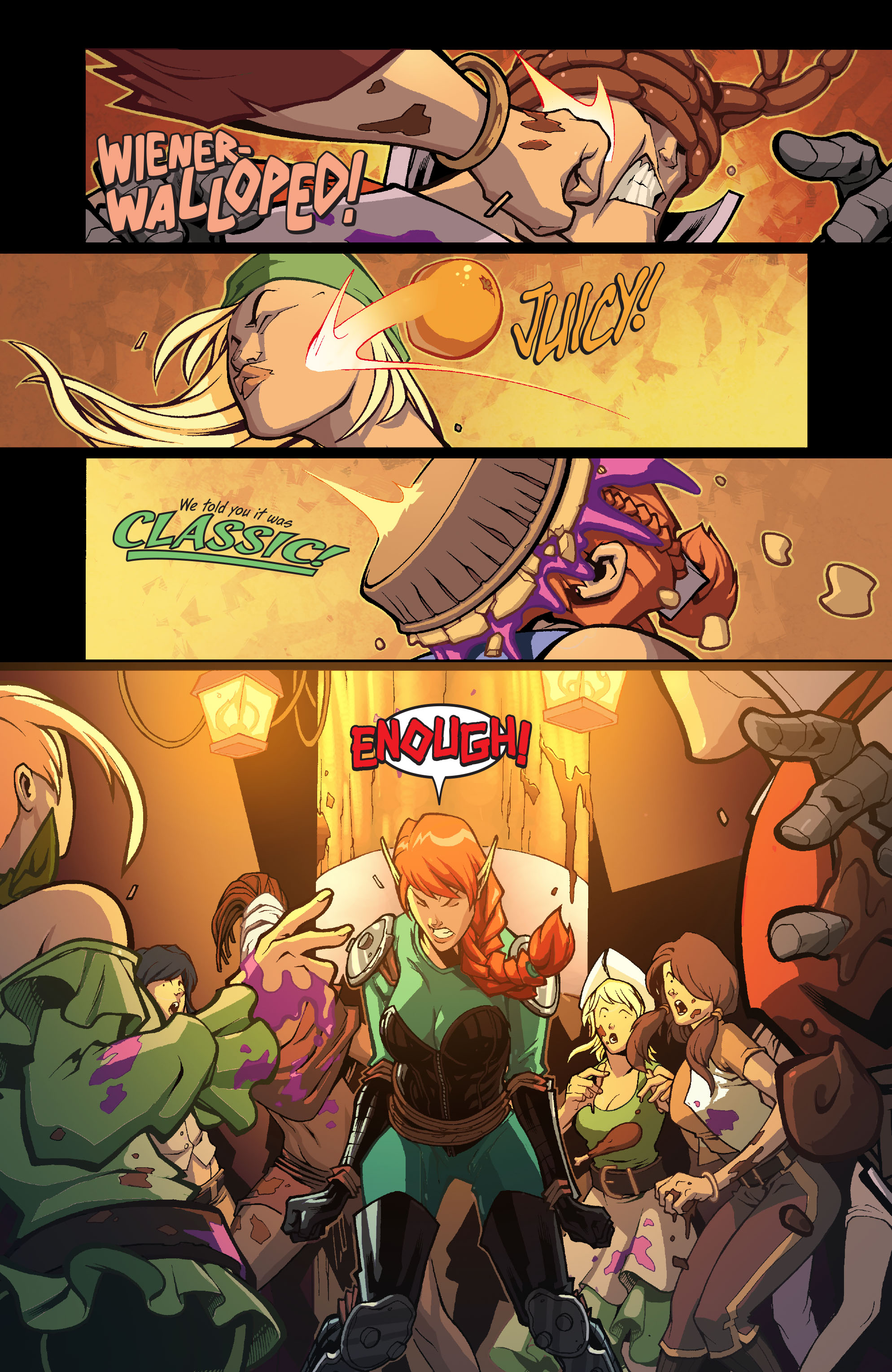 Read online Skullkickers comic -  Issue #13 - 14