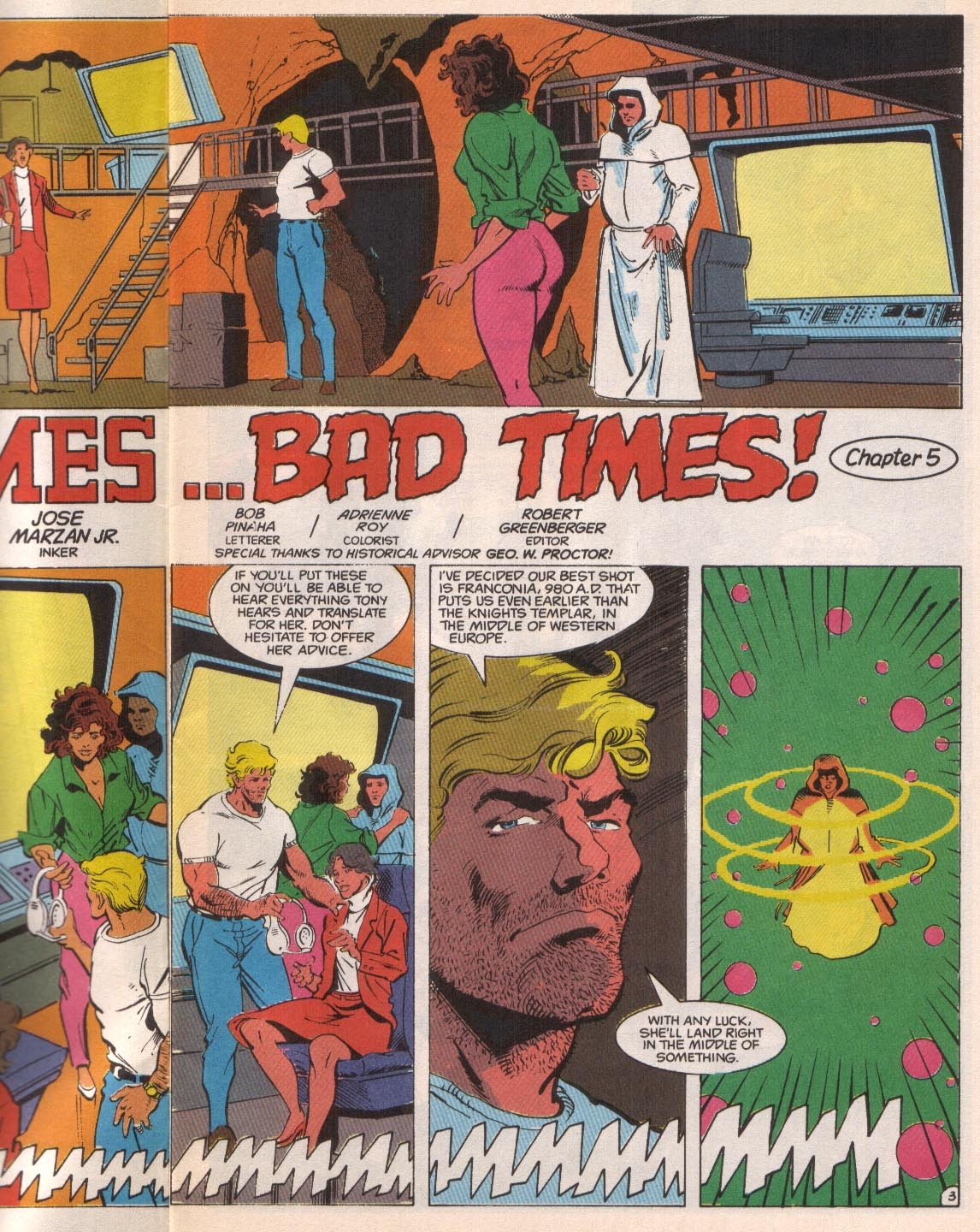 Time Masters issue 5 - Page 5