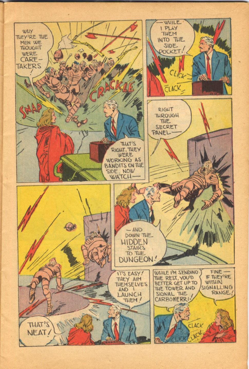 Read online Super-Magician Comics comic -  Issue #38 - 15