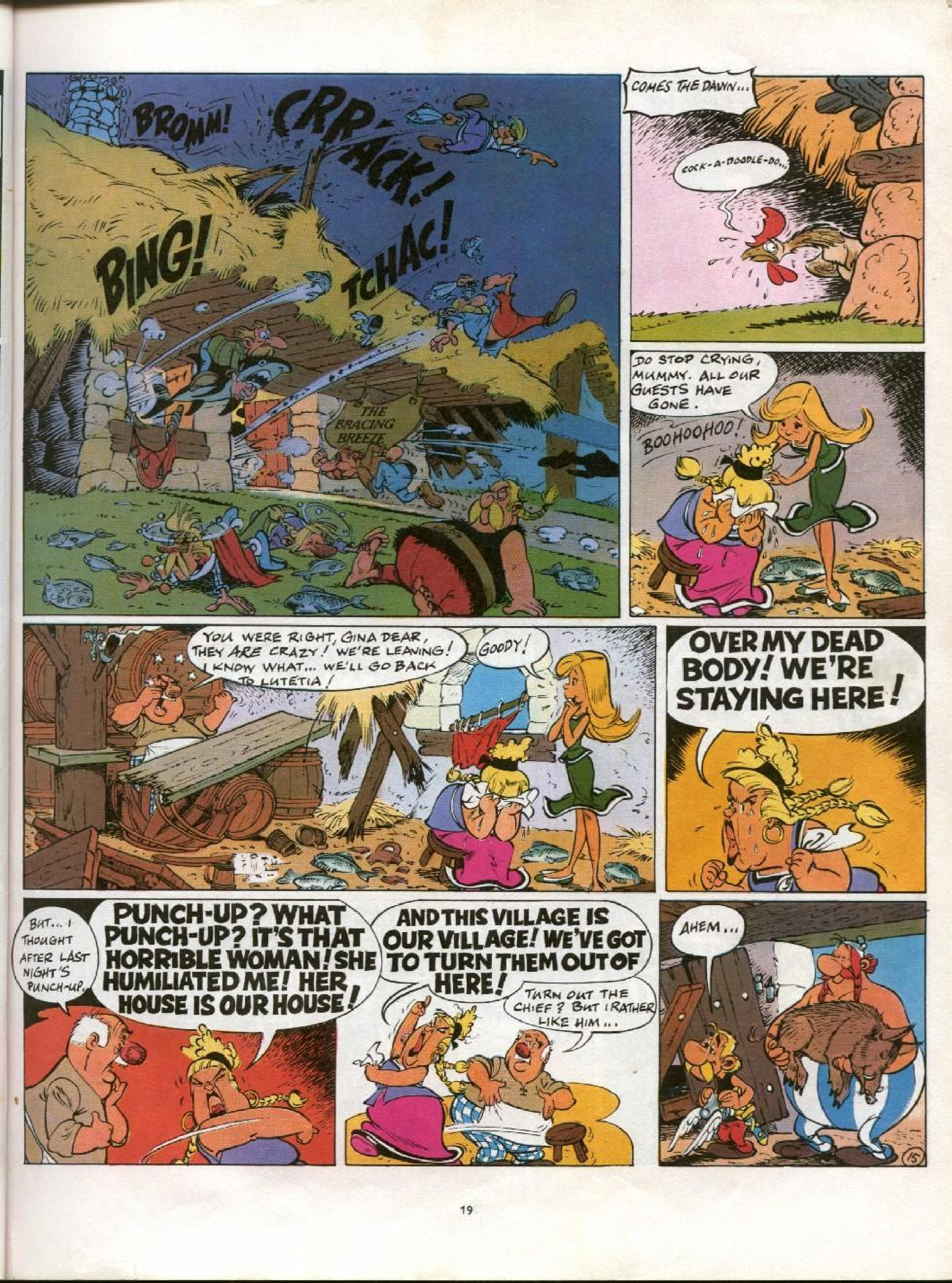 Read online Asterix comic -  Issue #21 - 16
