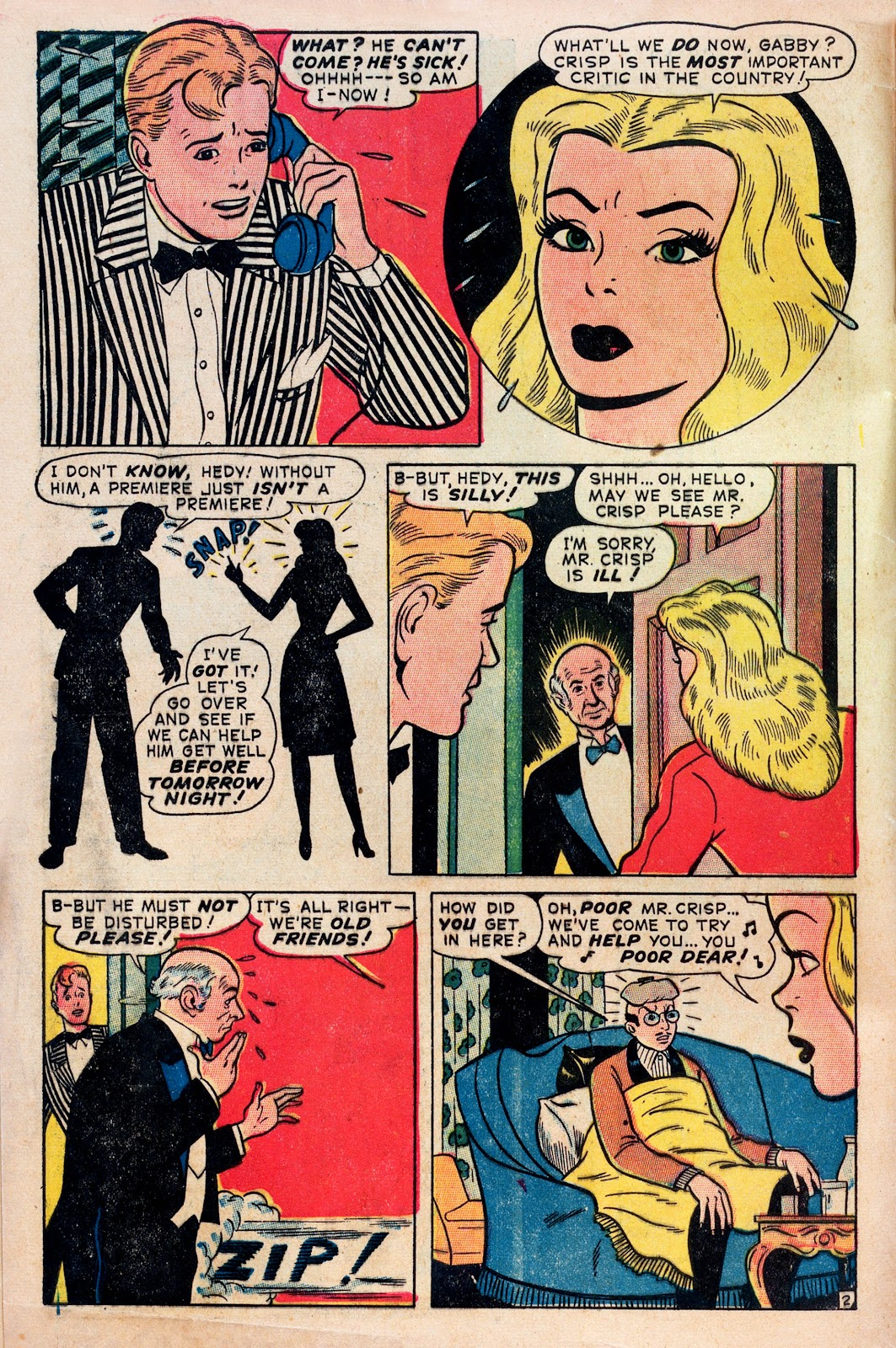 Read online Comedy Comics (1948) comic -  Issue #1 - 4