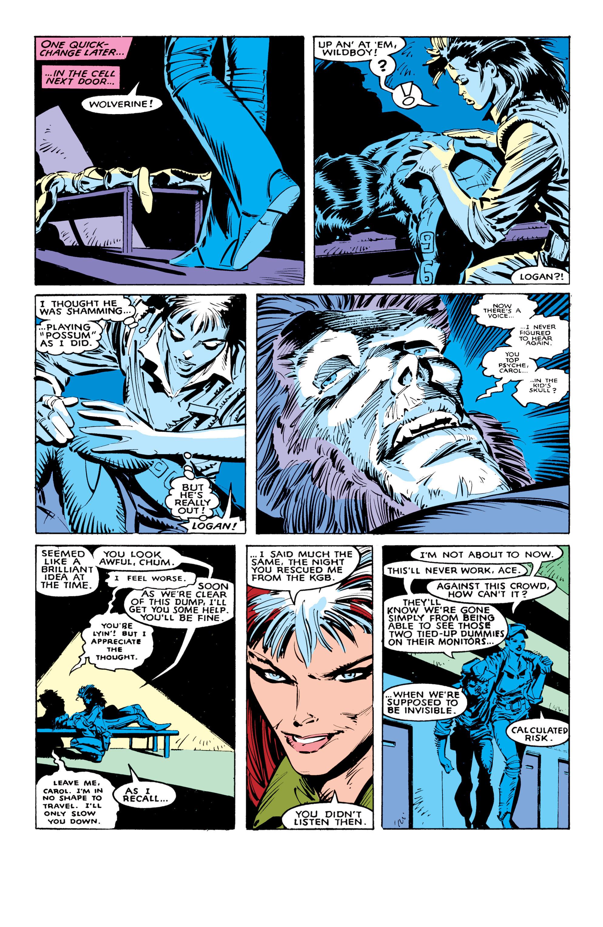 Read online Uncanny X-Men (1963) comic -  Issue #236 - 19