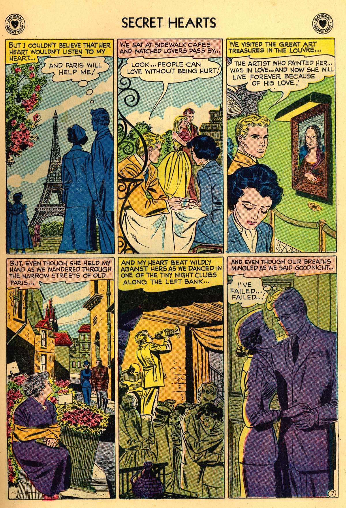 Read online Secret Hearts comic -  Issue #55 - 9