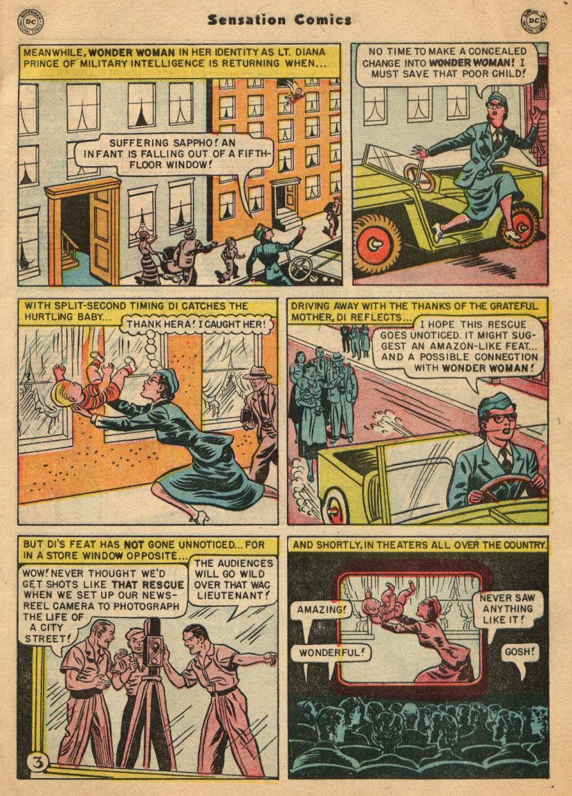 Read online Sensation (Mystery) Comics comic -  Issue #100 - 5
