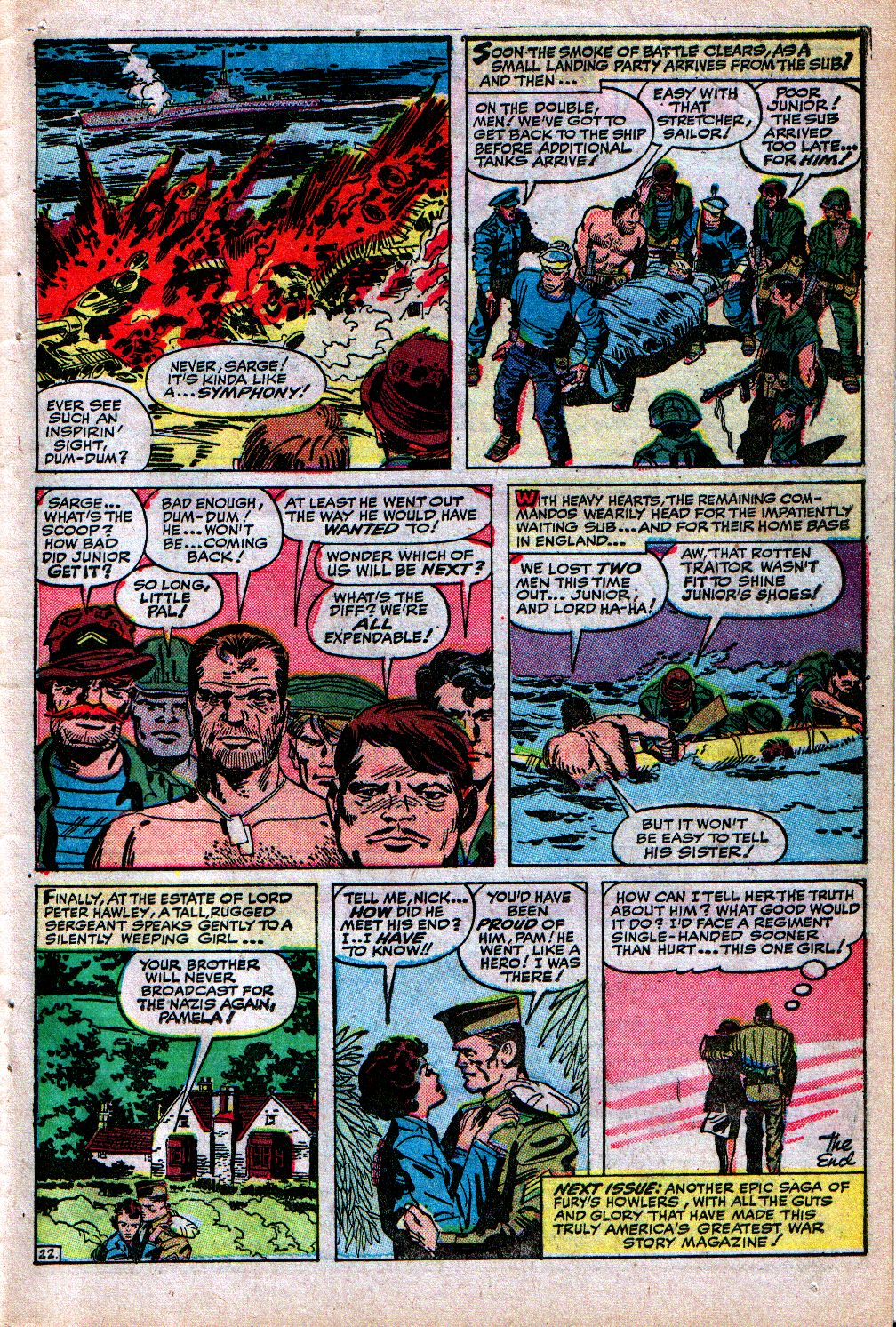 Read online Sgt. Fury comic -  Issue #4 - 31