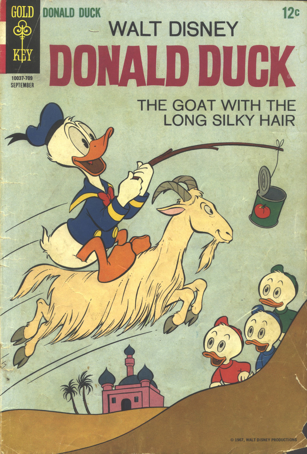 Walt Disney's Donald Duck (1952) issue 115 - Page 1