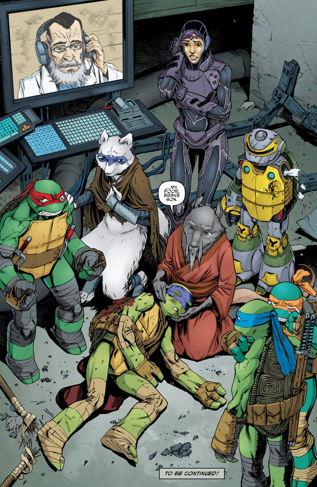 Read online Teenage Mutant Ninja Turtles: The IDW Collection comic -  Issue # TPB 5 (Part 4) - 54