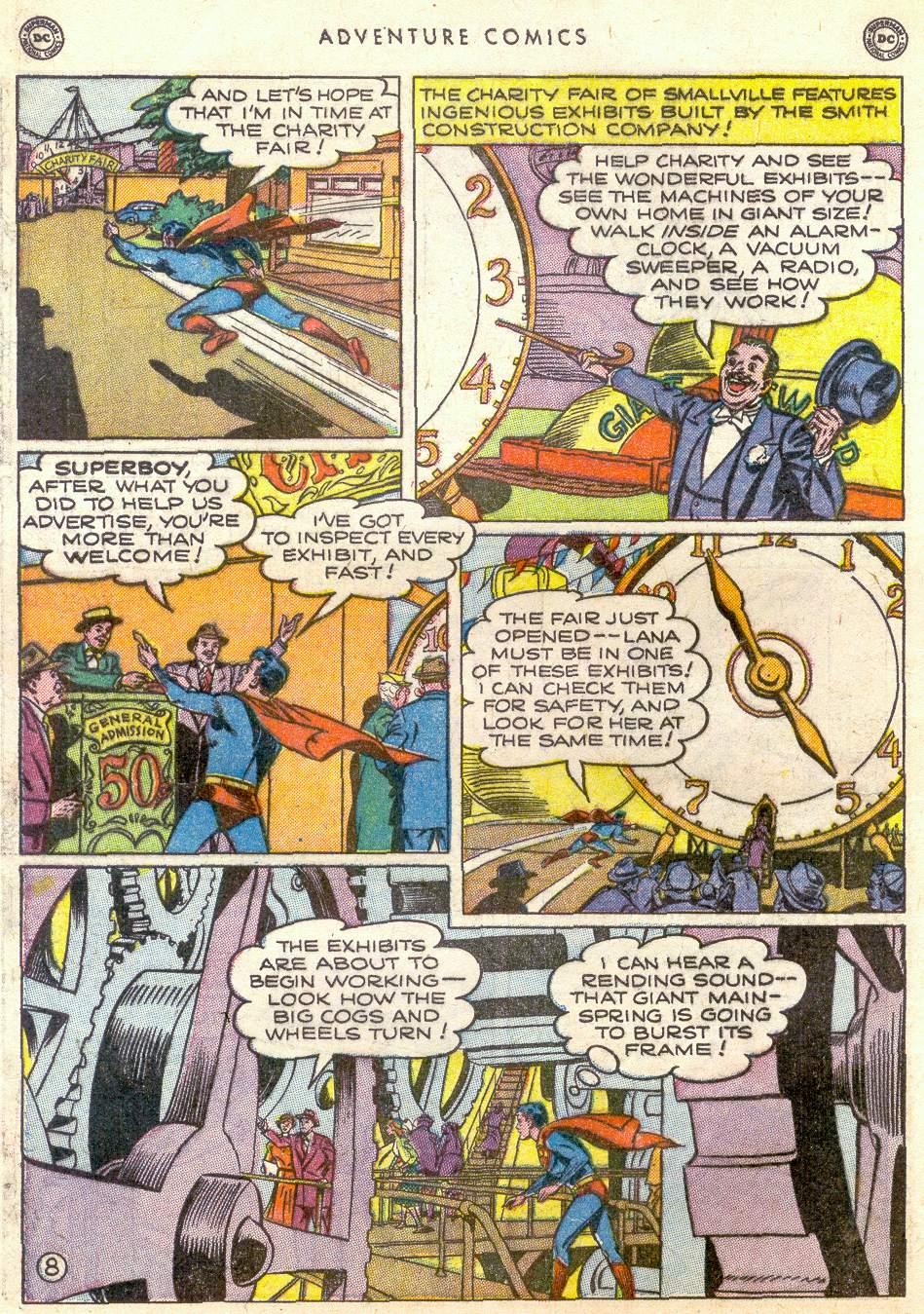 Read online Adventure Comics (1938) comic -  Issue #161 - 10