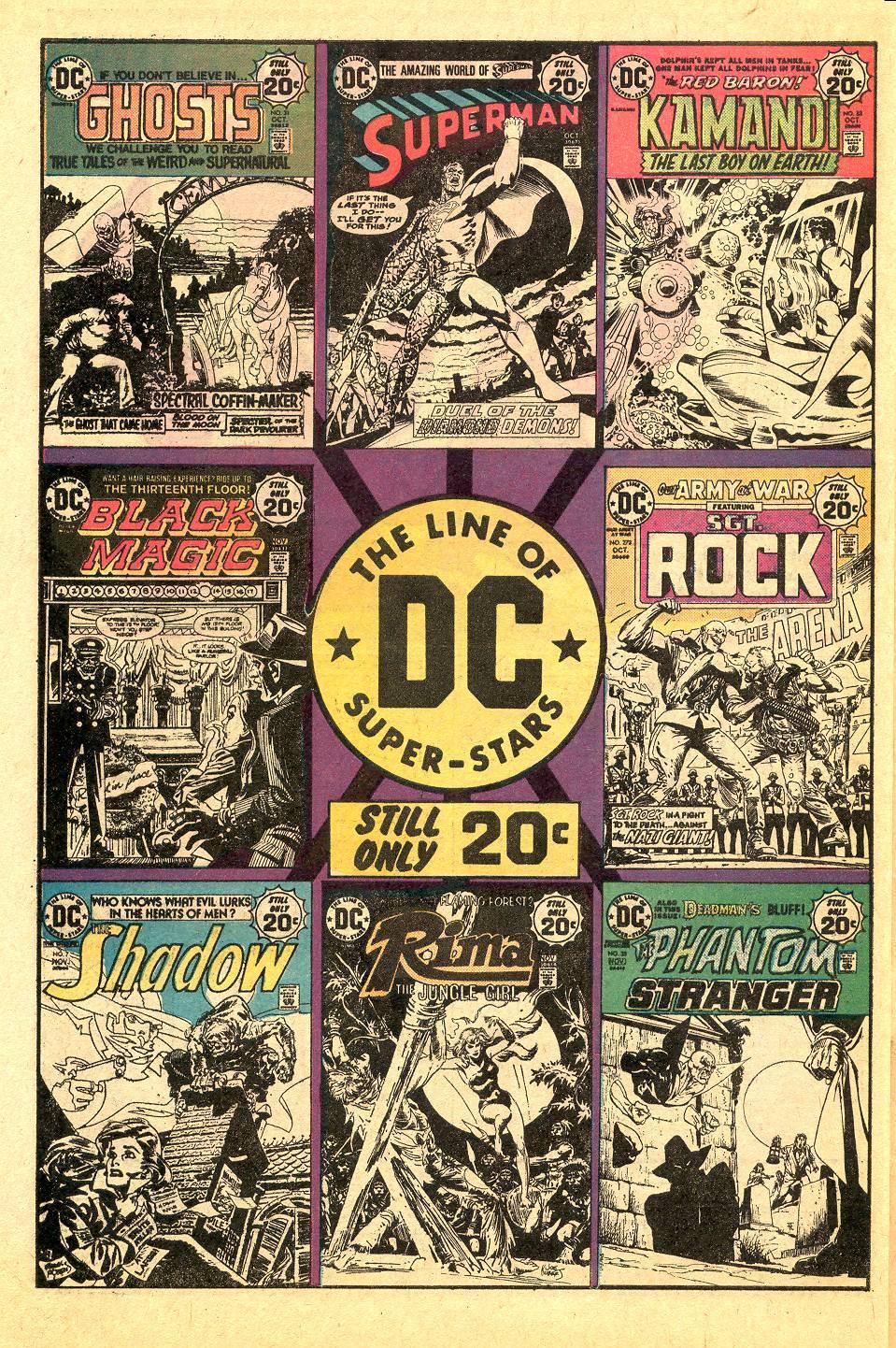 Read online Secret Origins (1973) comic -  Issue #7 - 29