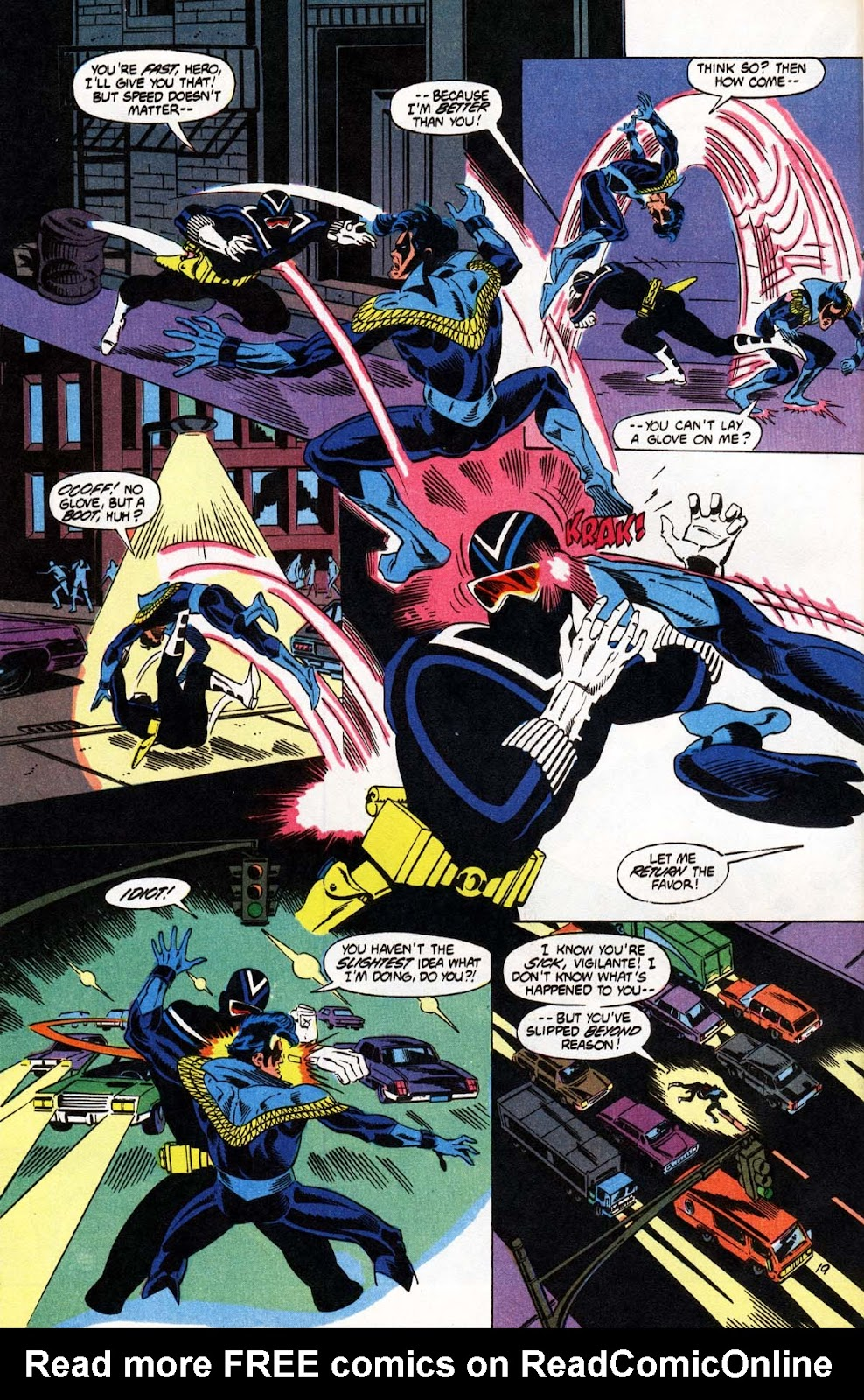 Vigilante (1983) issue 20 - Page 20