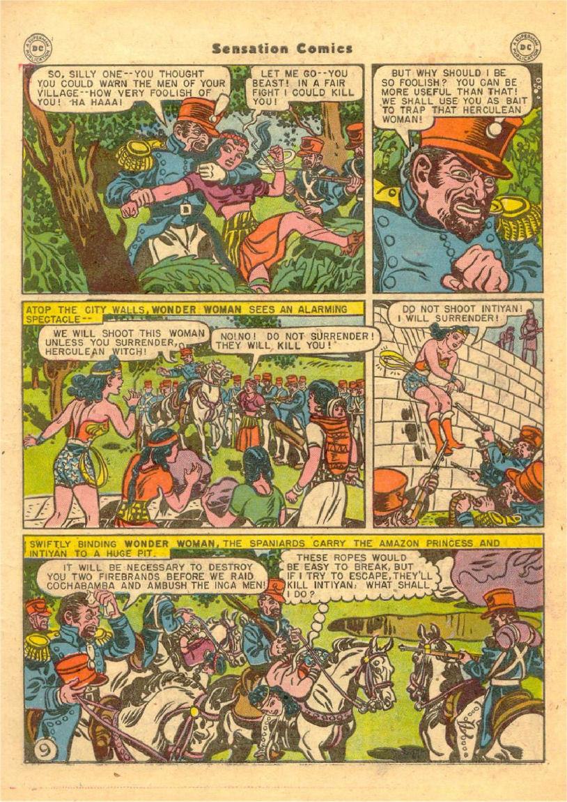 Read online Sensation (Mystery) Comics comic -  Issue #70 - 10