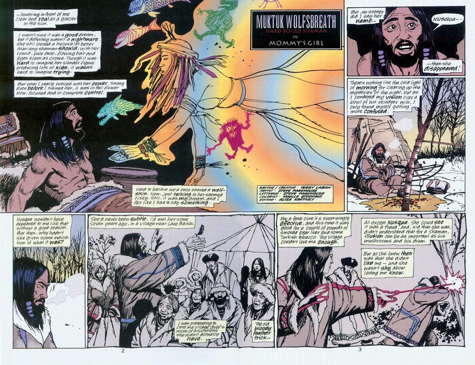 Muktuk Wolfsbreath: Hard-Boiled Shaman issue 1 - Page 3