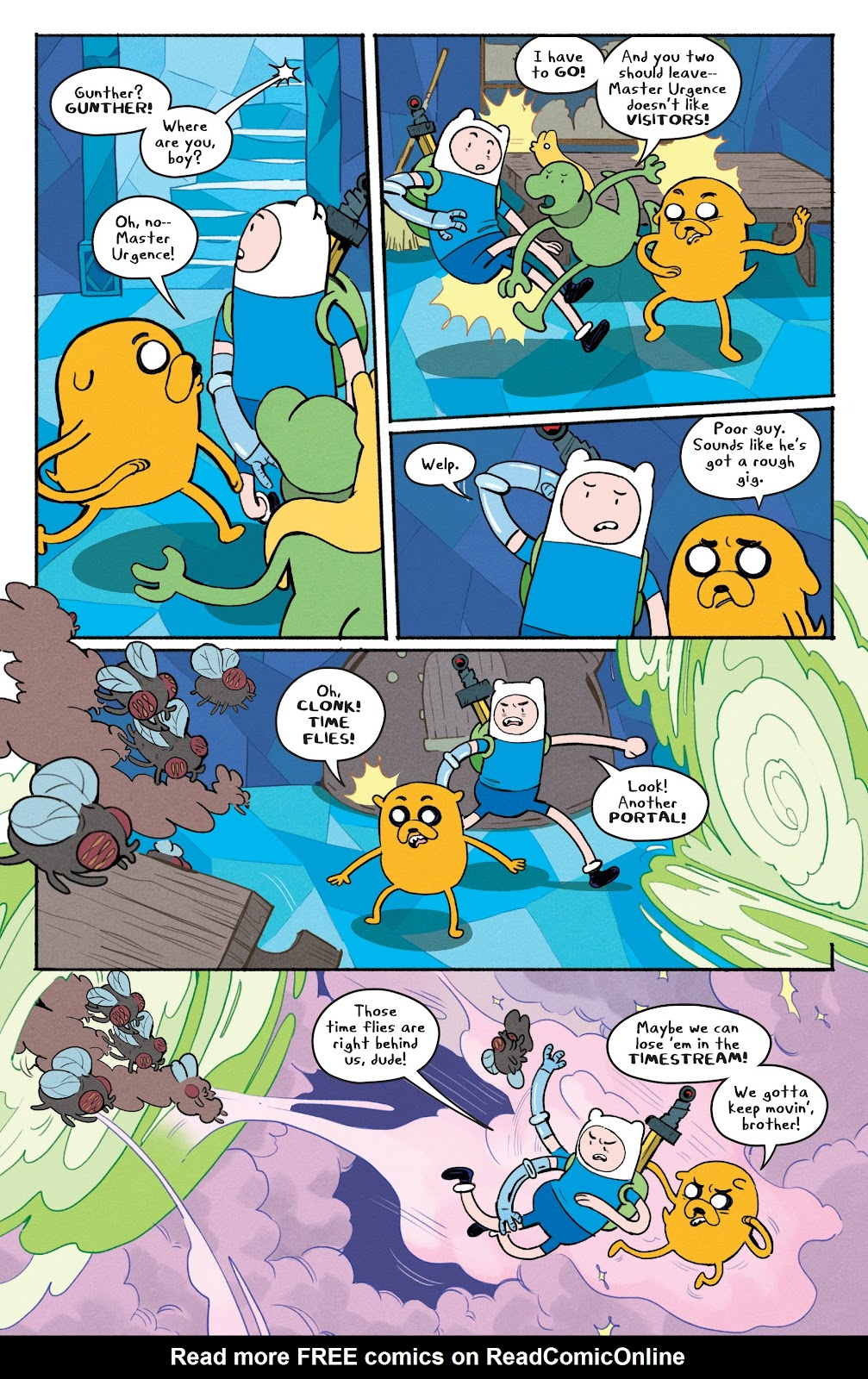 Read online Adventure Time: Beginning of the End comic -  Issue # _TPB - 81
