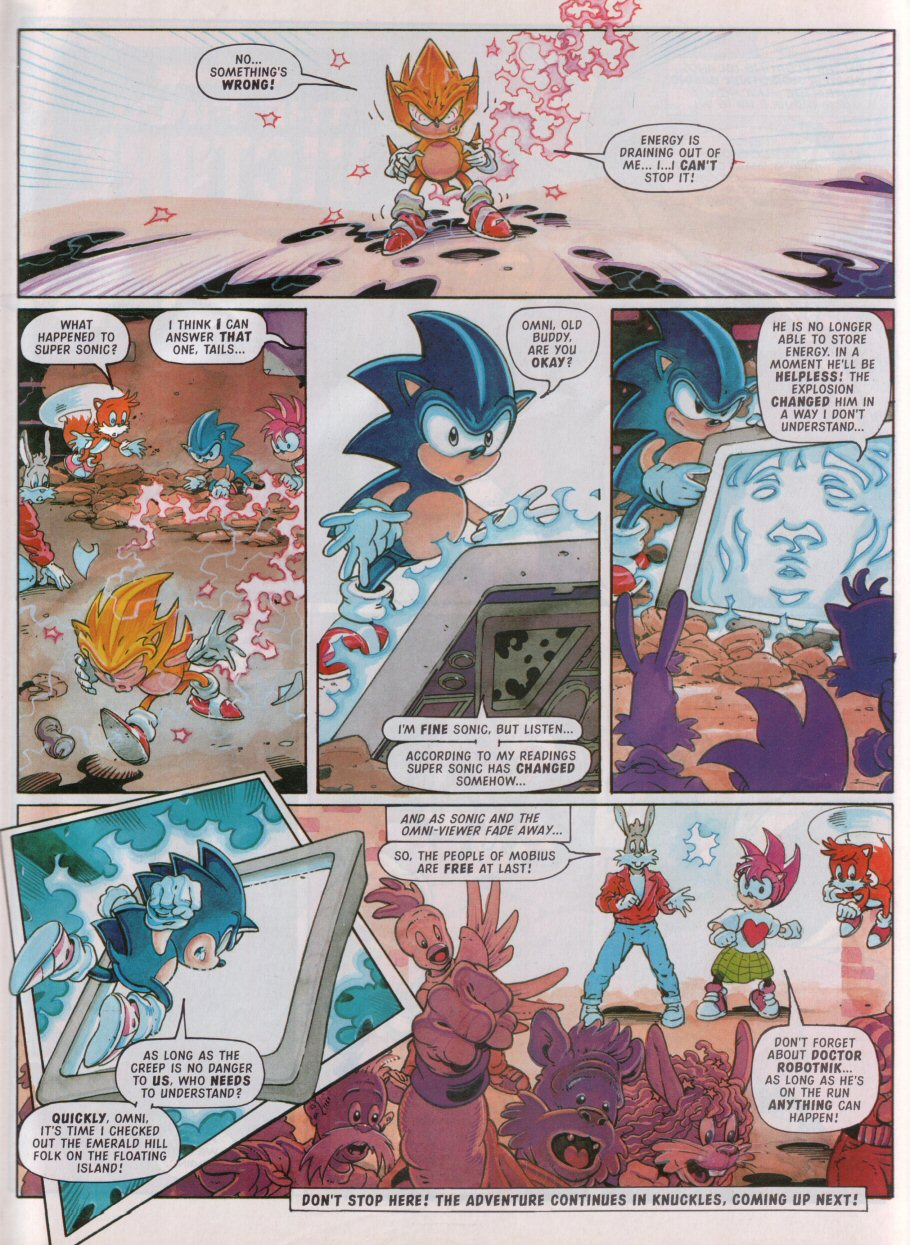 Read online Sonic the Comic comic -  Issue #100 - 9