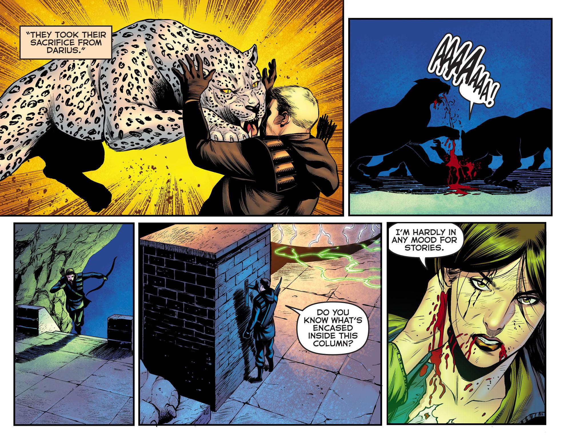 Read online Arrow: The Dark Archer comic -  Issue #9 - 19