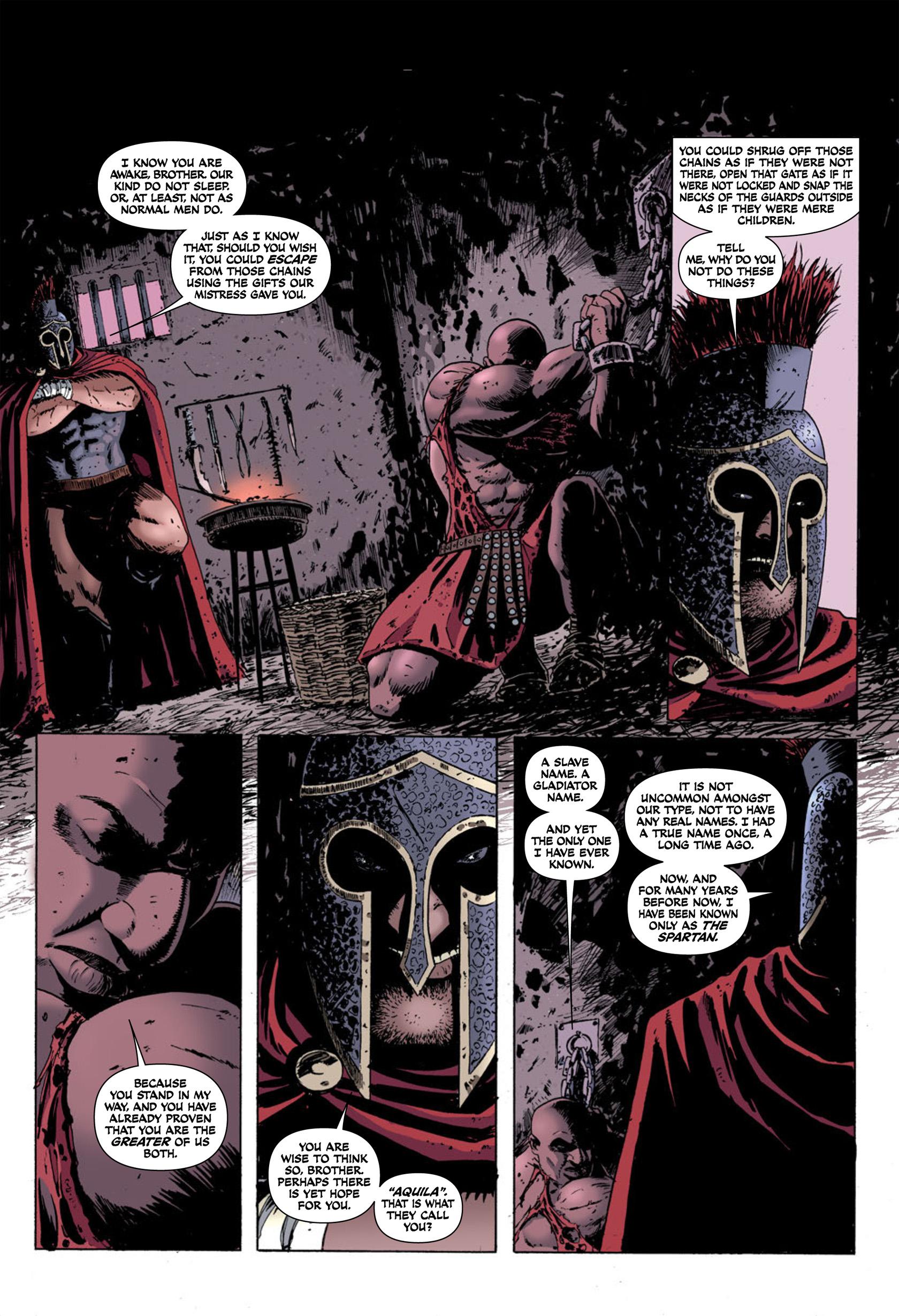 Read online Aquila comic -  Issue #2 - 3