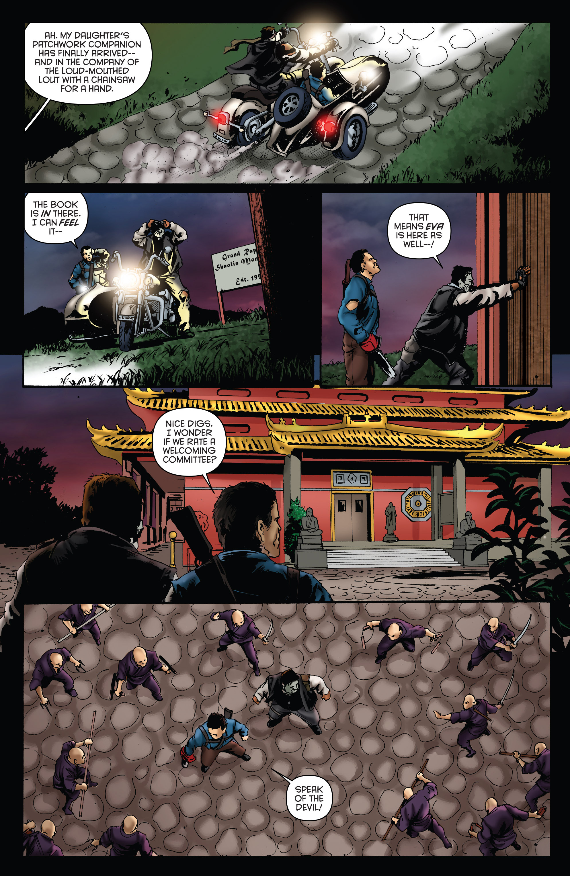 Read online Army of Darkness: Furious Road comic -  Issue #5 - 18