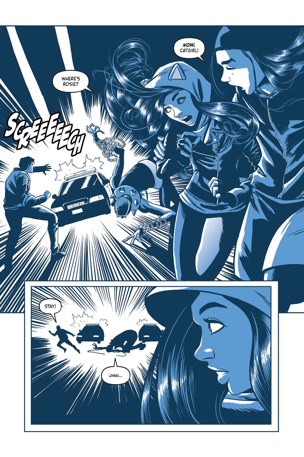 Read online Under the Moon: A Catwoman Tale comic -  Issue # TPB (Part 2) - 53