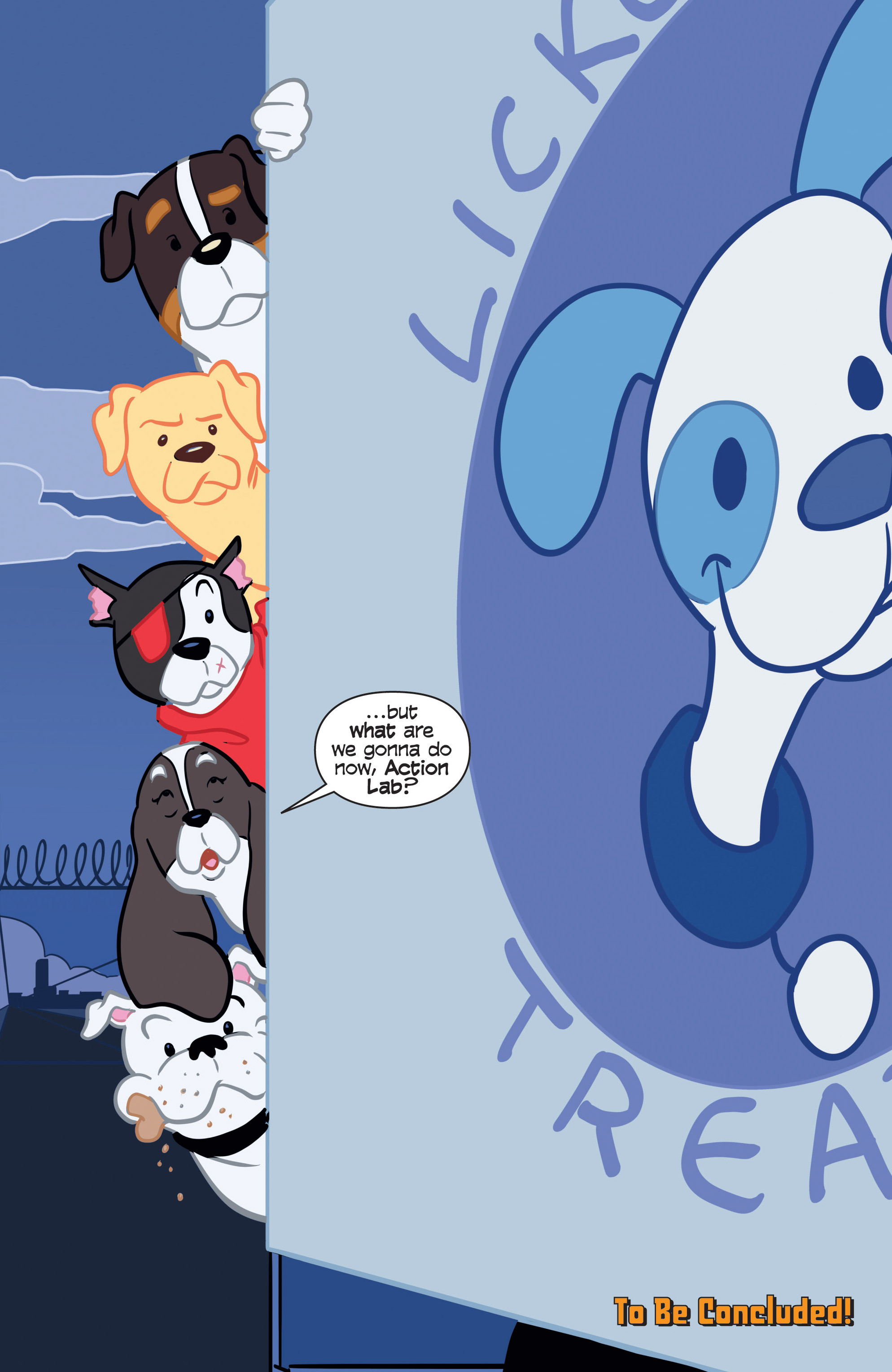 Read online Action Lab, Dog of Wonder comic -  Issue #2 - 22