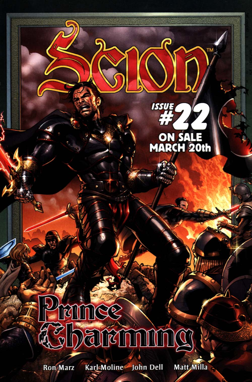 Read online Scion comic -  Issue #21 - 32