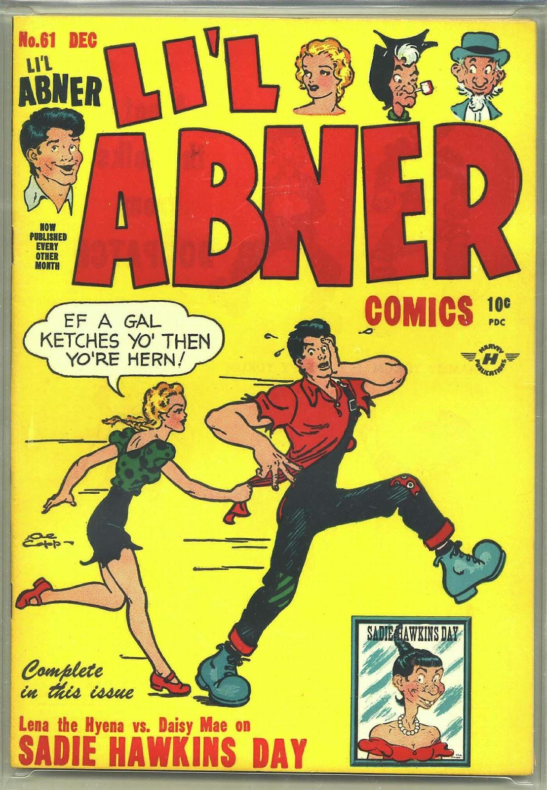 Lil Abner Comics 61 Page 1
