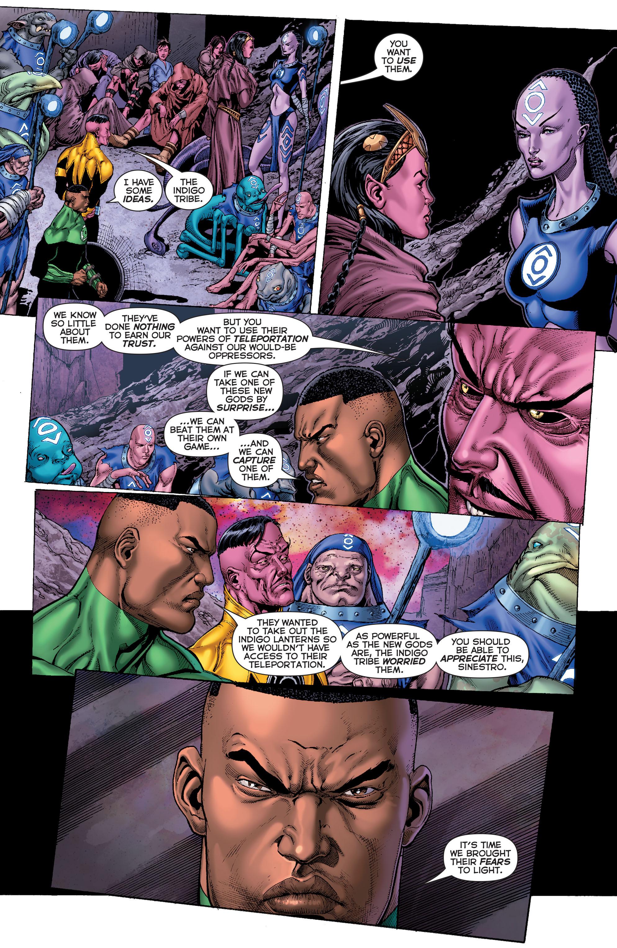 Read online Sinestro comic -  Issue #7 - 9