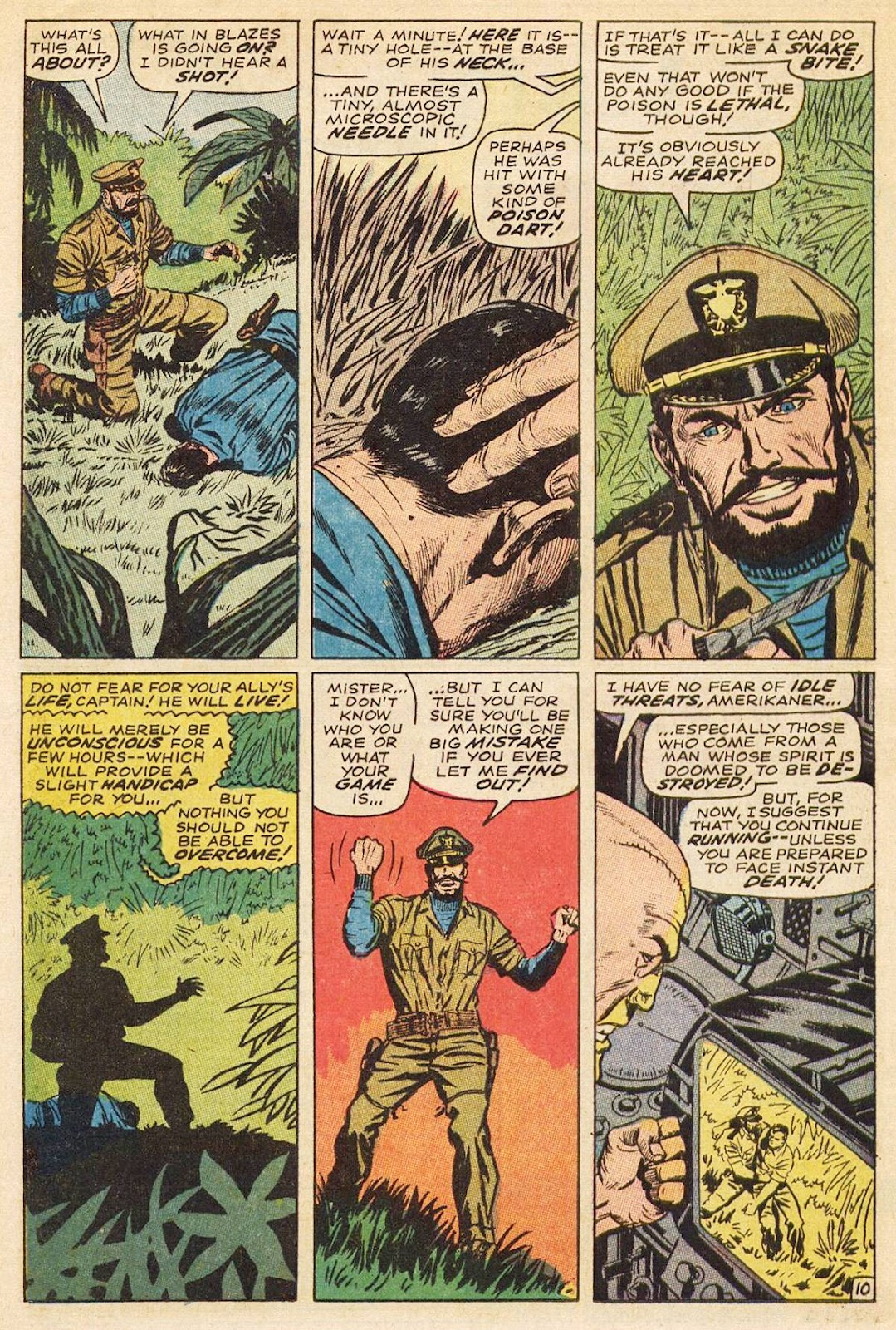 Captain Savage and his Leatherneck Raiders issue 3 - Page 16