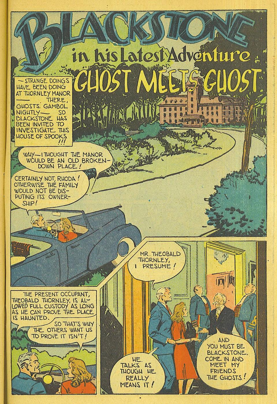 Read online Super-Magician Comics comic -  Issue #39 - 42