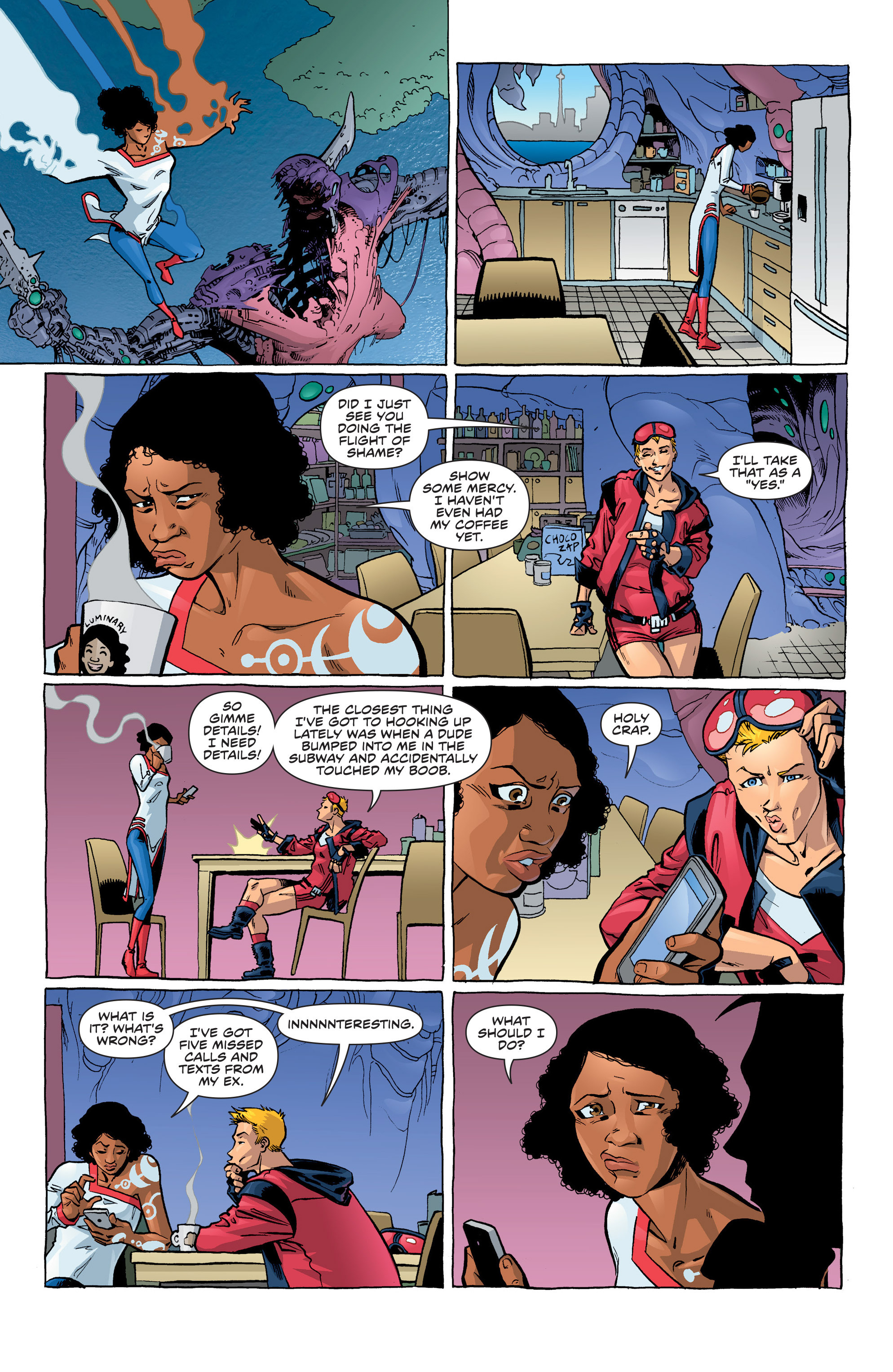 Read online Secret Identities comic -  Issue #6 - 8
