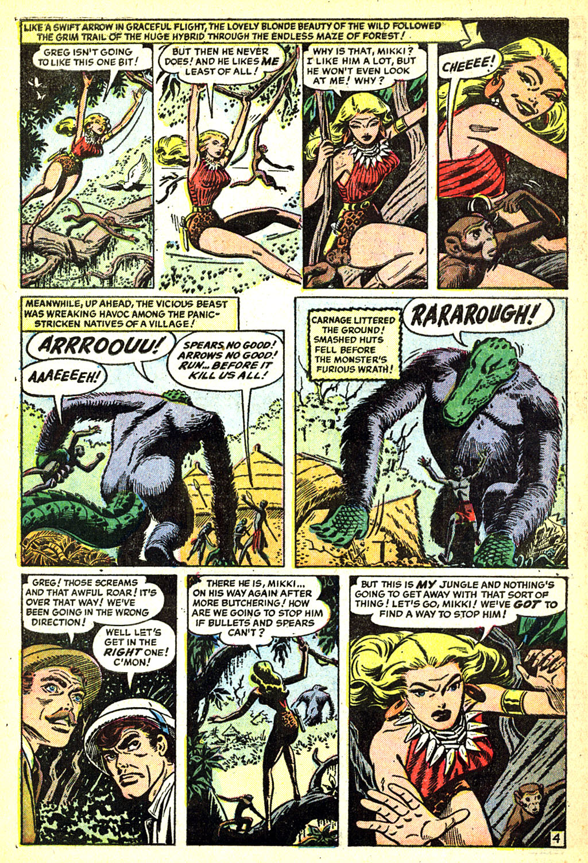 Comic Lorna, The Jungle Girl issue 3