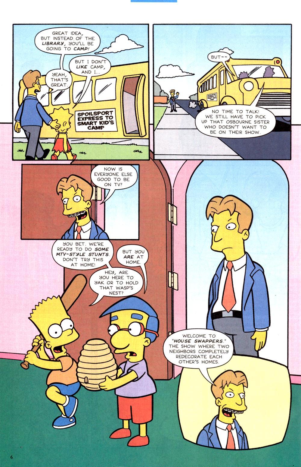 Read online Simpsons Comics comic -  Issue #82 - 7