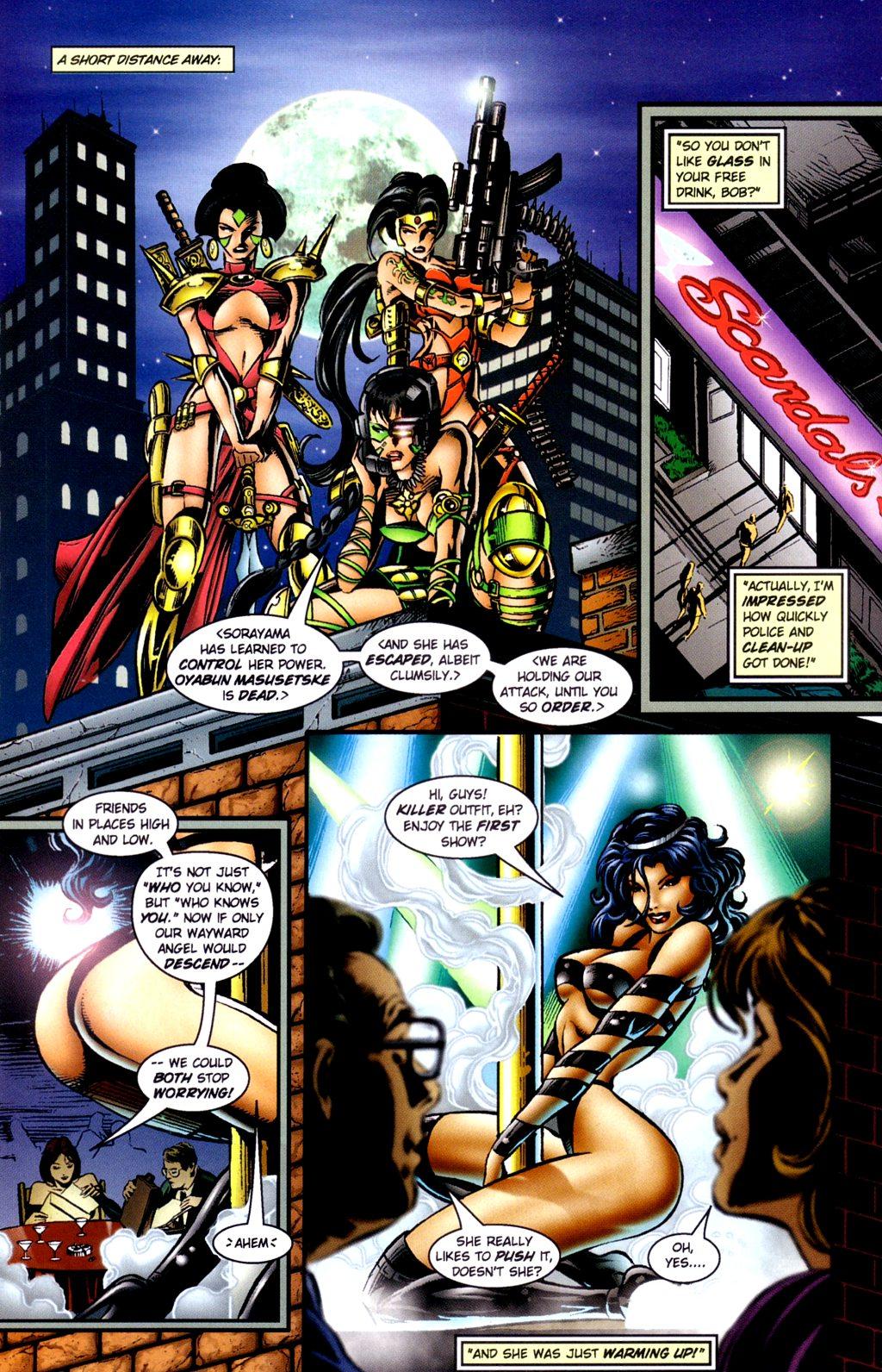Read online Jade Warriors comic -  Issue #2 - 21