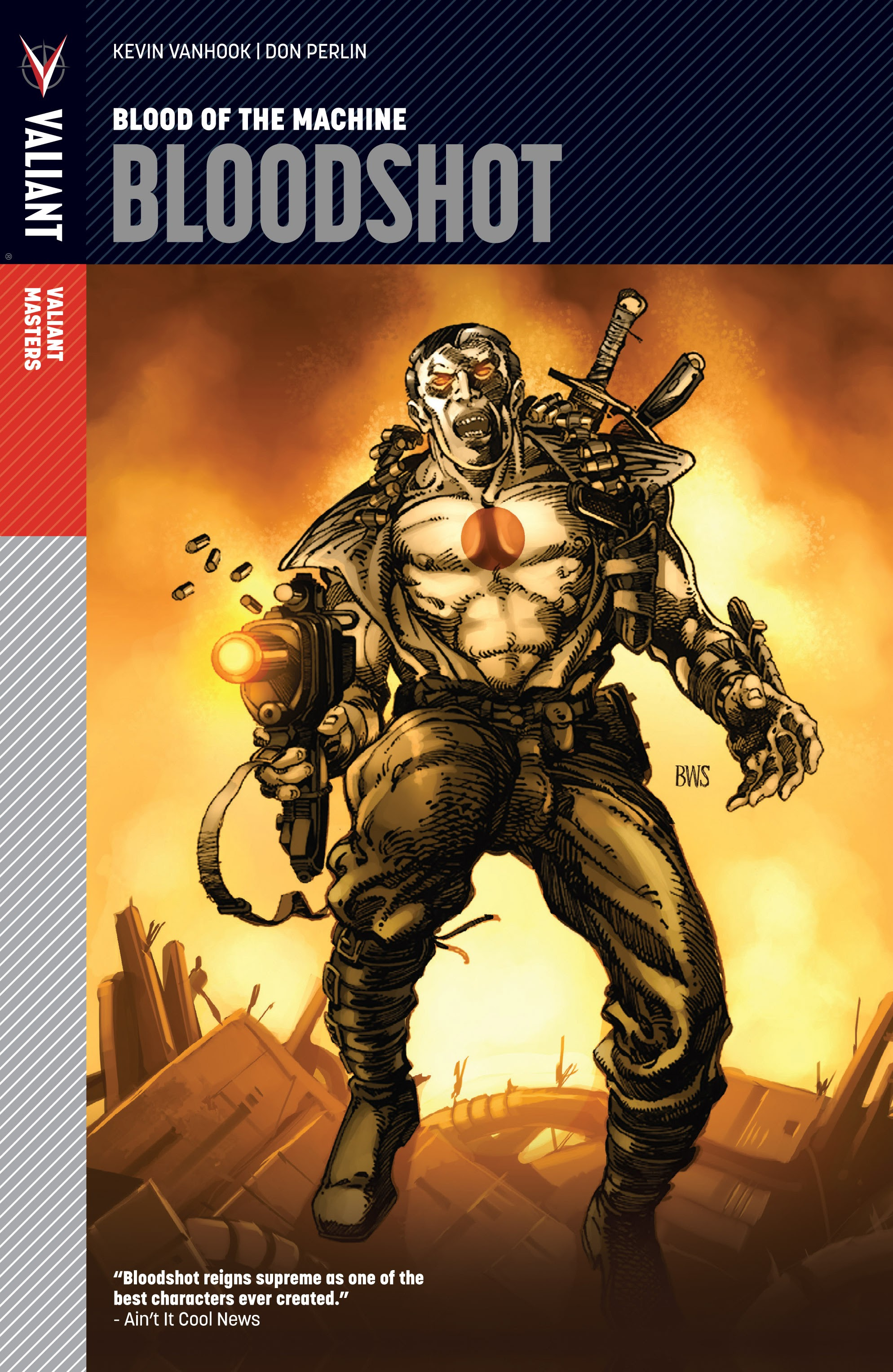Valiant Masters Bloodshot: Blood of the Machine issue TPB (Part 1) - Page 1