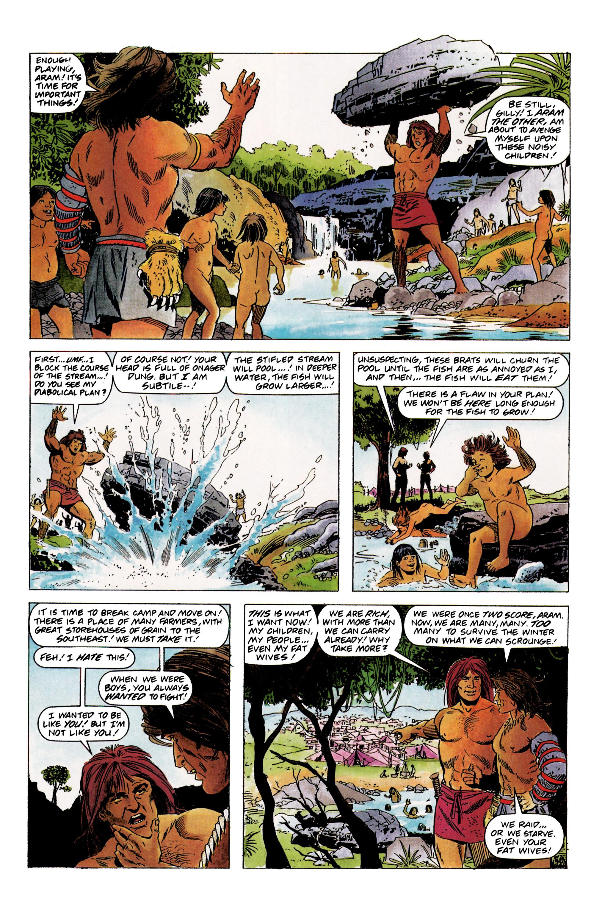 Read online Eternal Warrior (1992) comic -  Issue #1 - 7