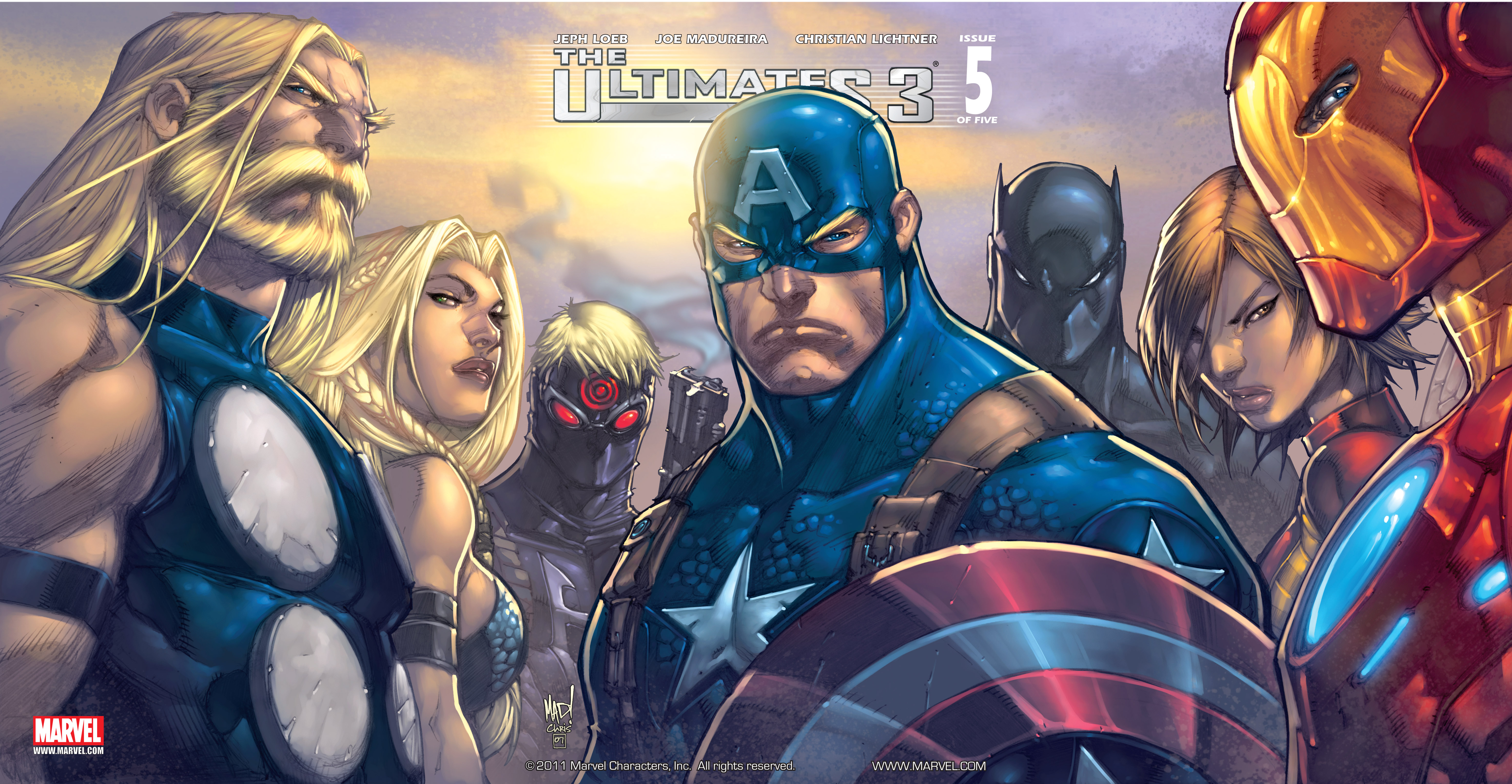 Read online Ultimates 3 comic -  Issue #5 - 2