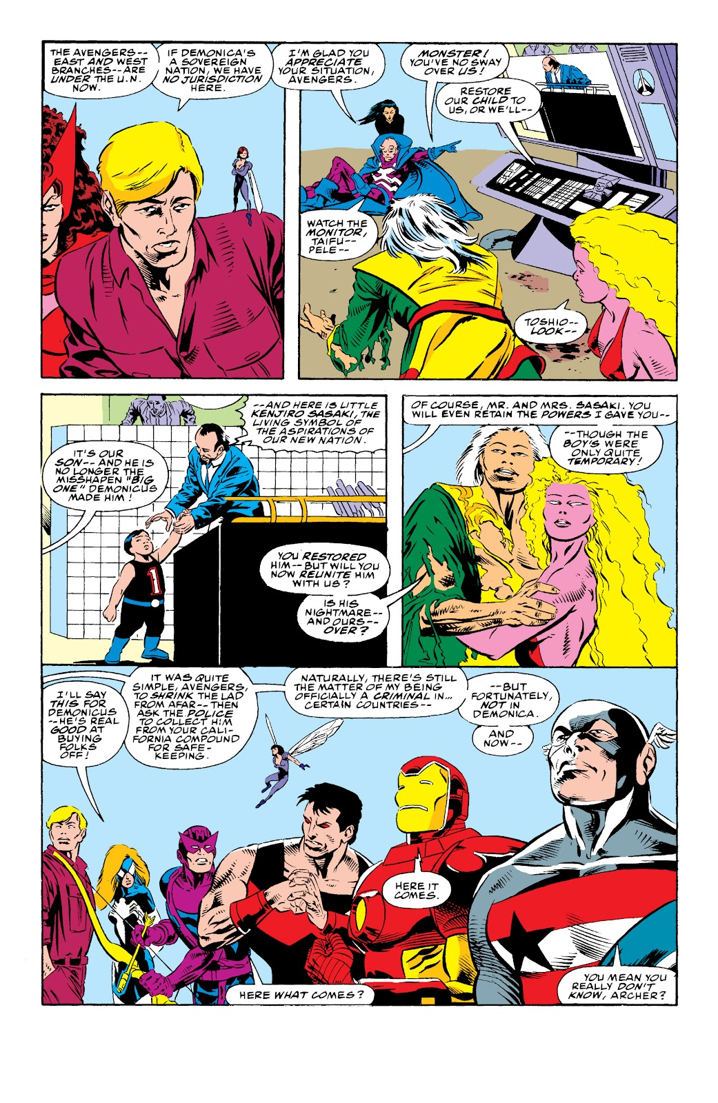 Avengers West Coast (1989) issue 74 - Page 21