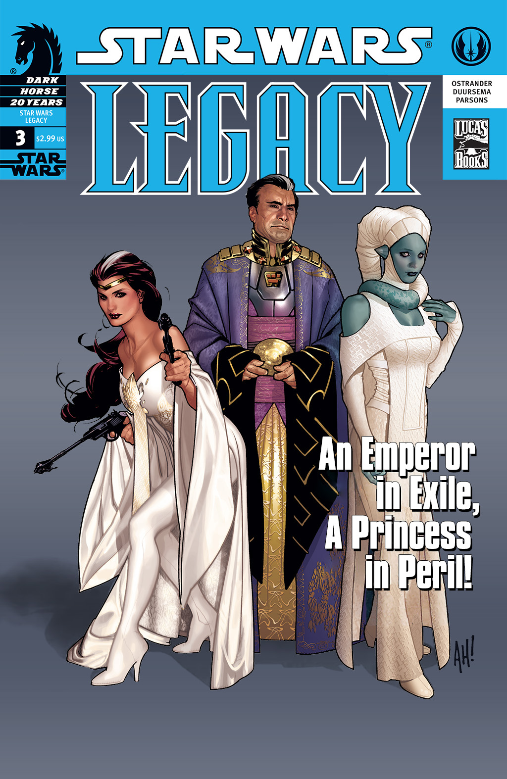 Star Wars: Legacy (2006) issue 3 - Page 1