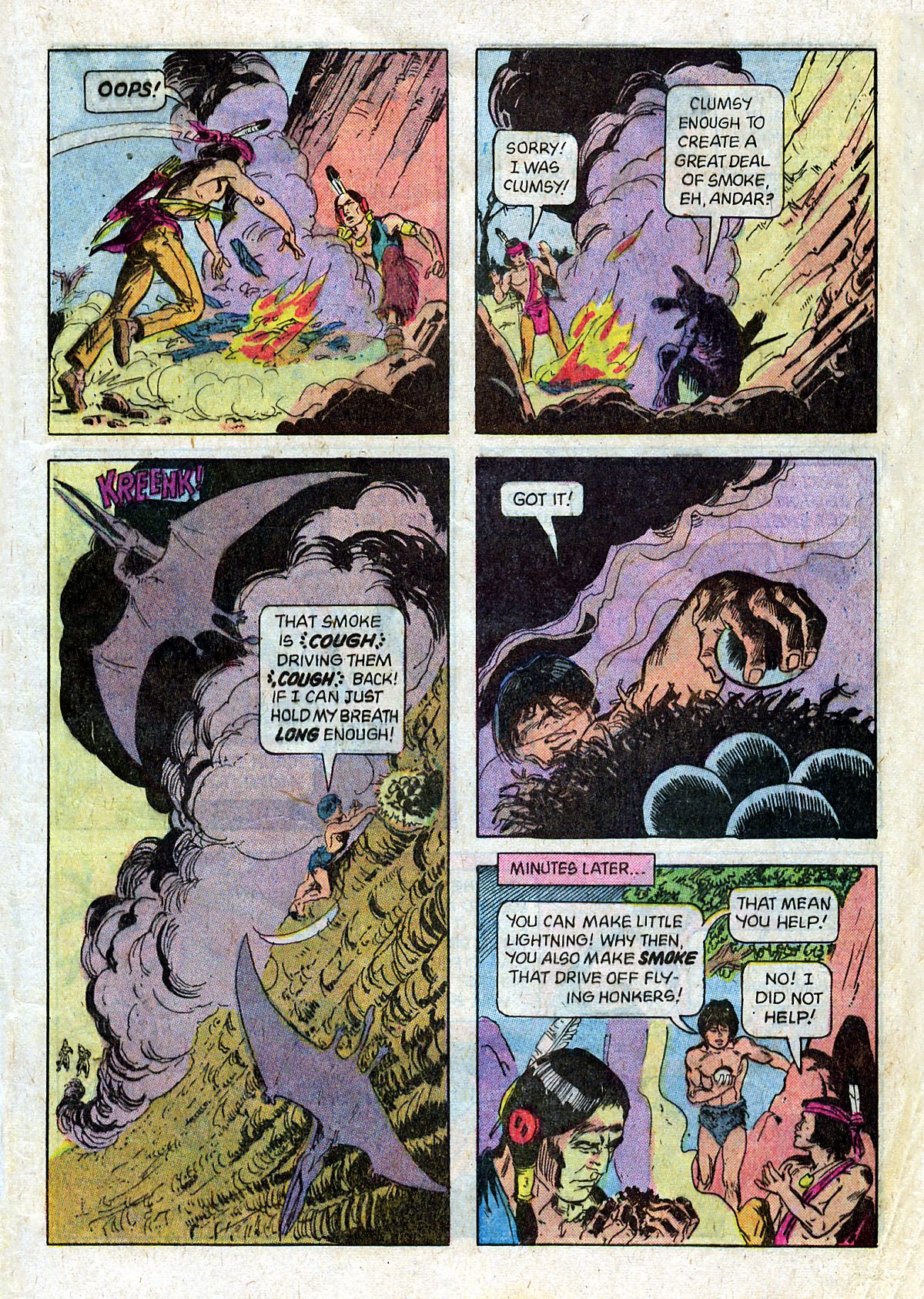 Read online Turok, Son of Stone comic -  Issue #124 - 9
