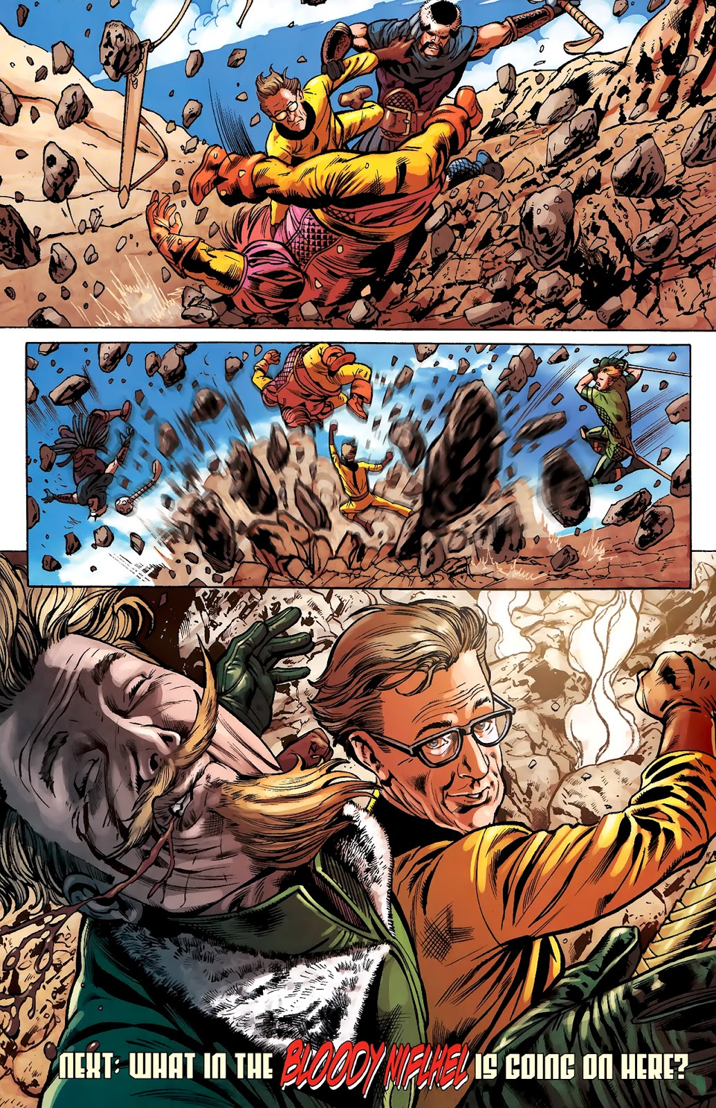 Warriors Three Issue #2 #2 - English 24