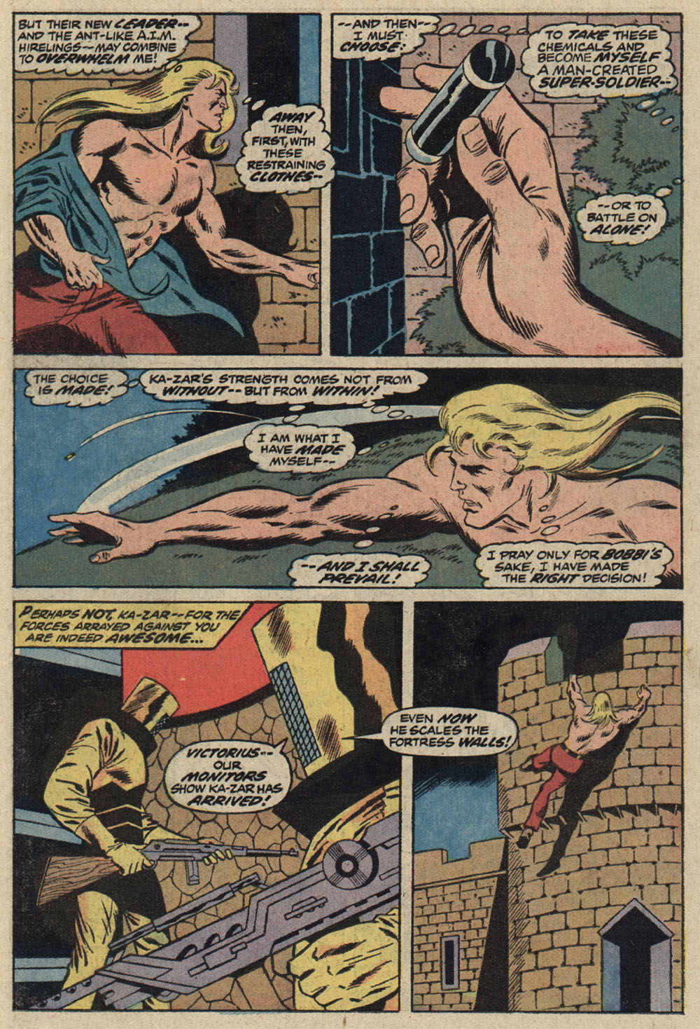 Read online Astonishing Tales (1970) comic -  Issue #19 - 13