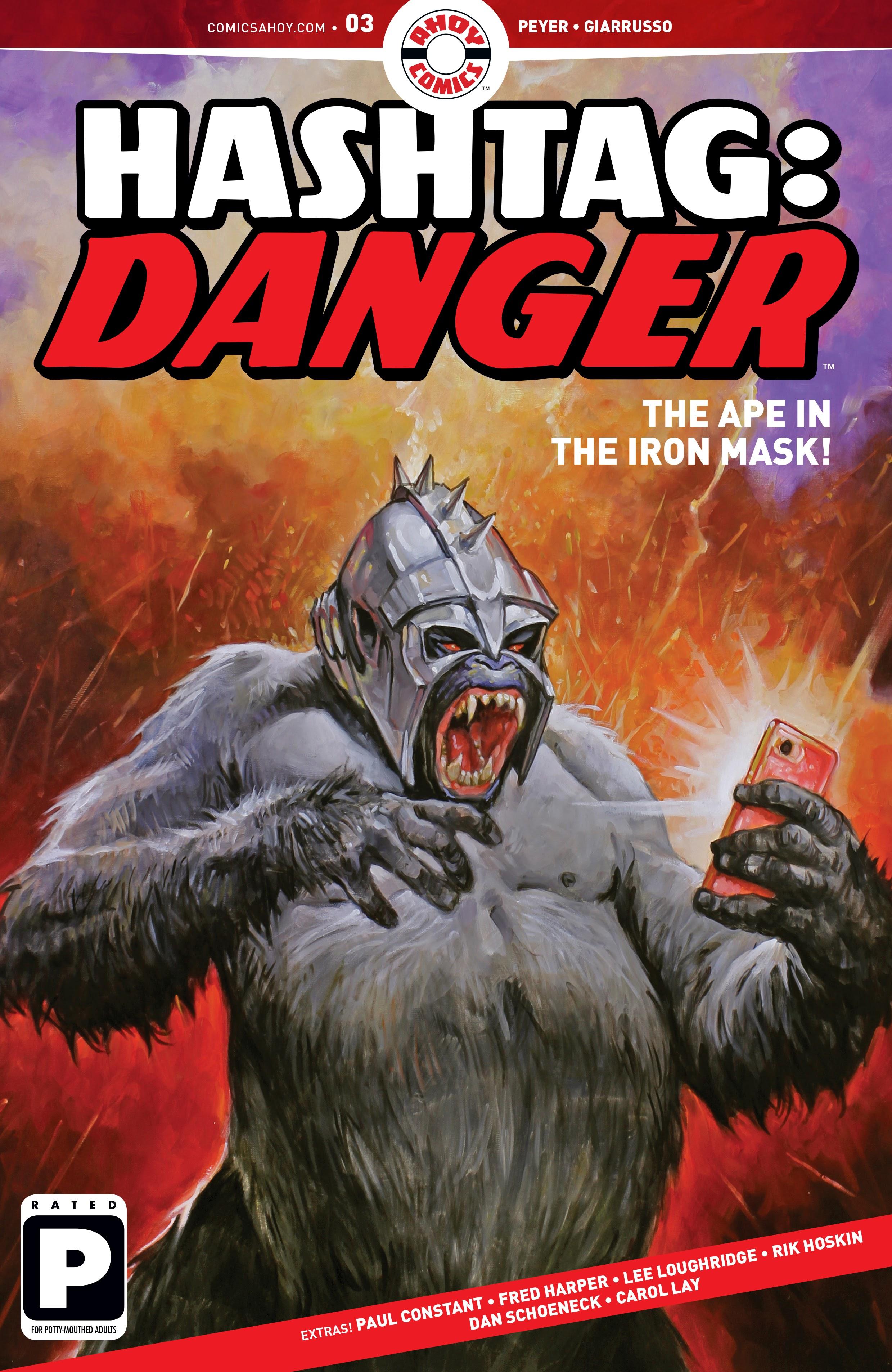 Hashtag Danger 3 Page 1