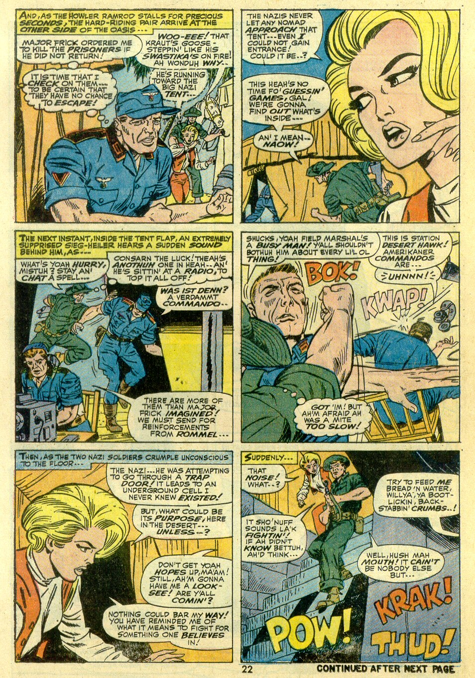 Read online Sgt. Fury comic -  Issue #107 - 24