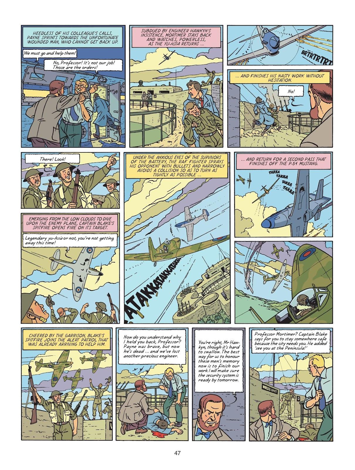 Read online Blake & Mortimer comic -  Issue #25 - 49