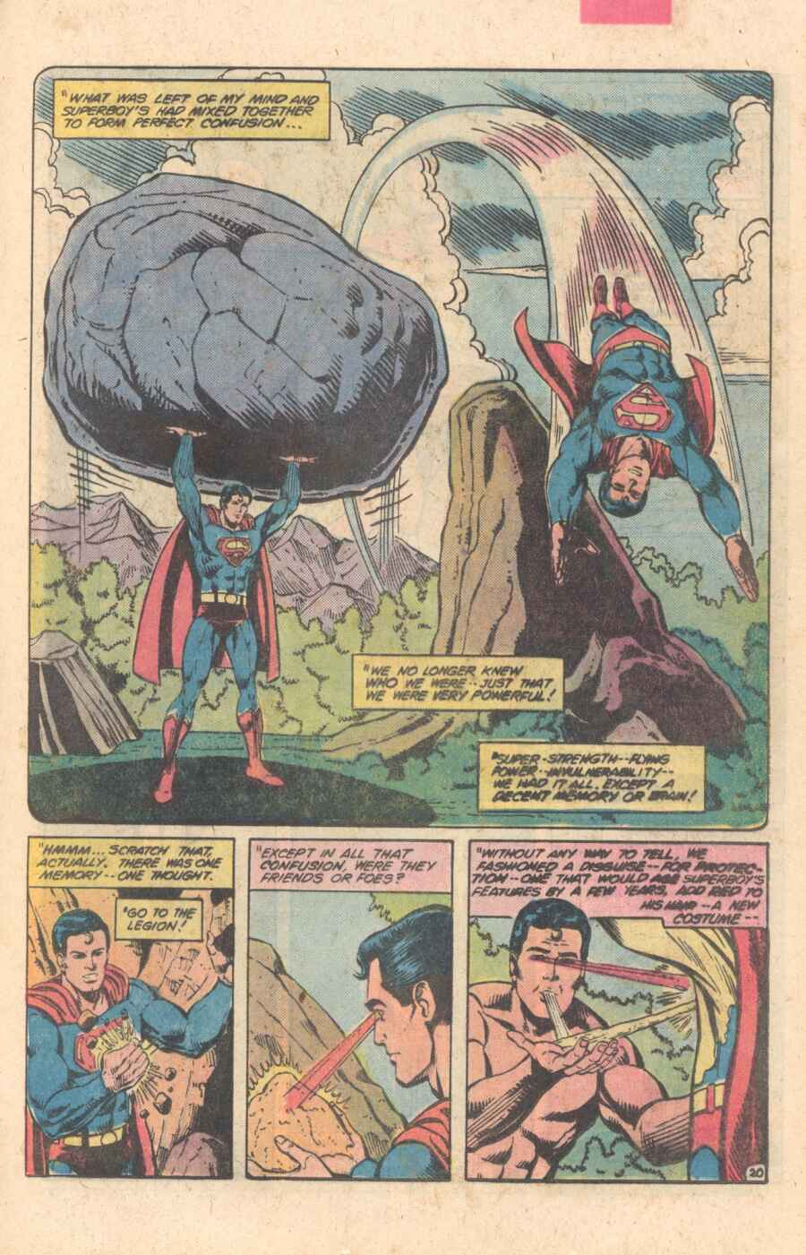 Legion of Super-Heroes (1980) 282 Page 20