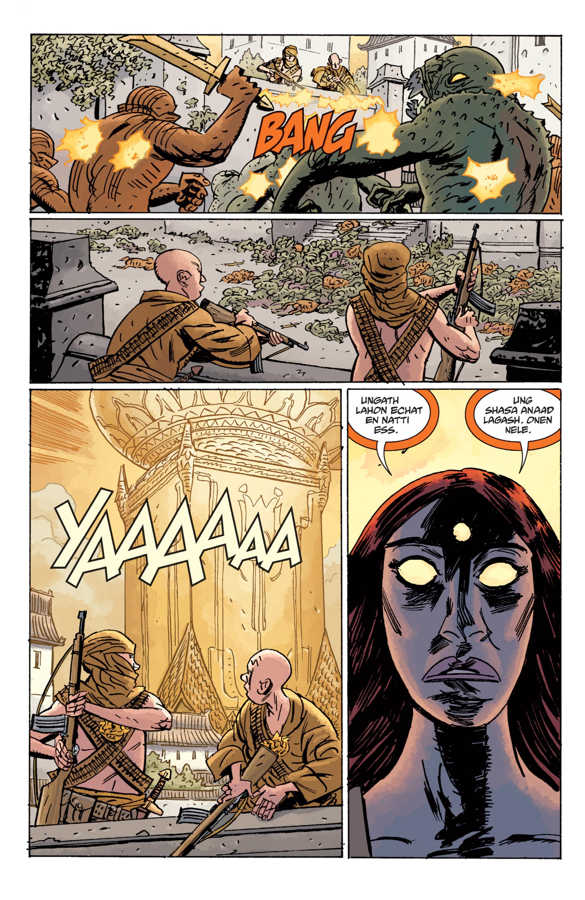 Read online B.P.R.D. (2003) comic -  Issue # TPB 11 - 123