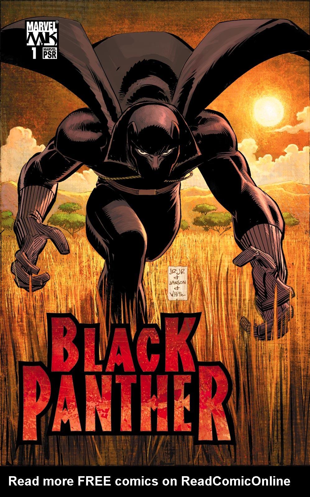 Black Panther (2005) 1 Page 1